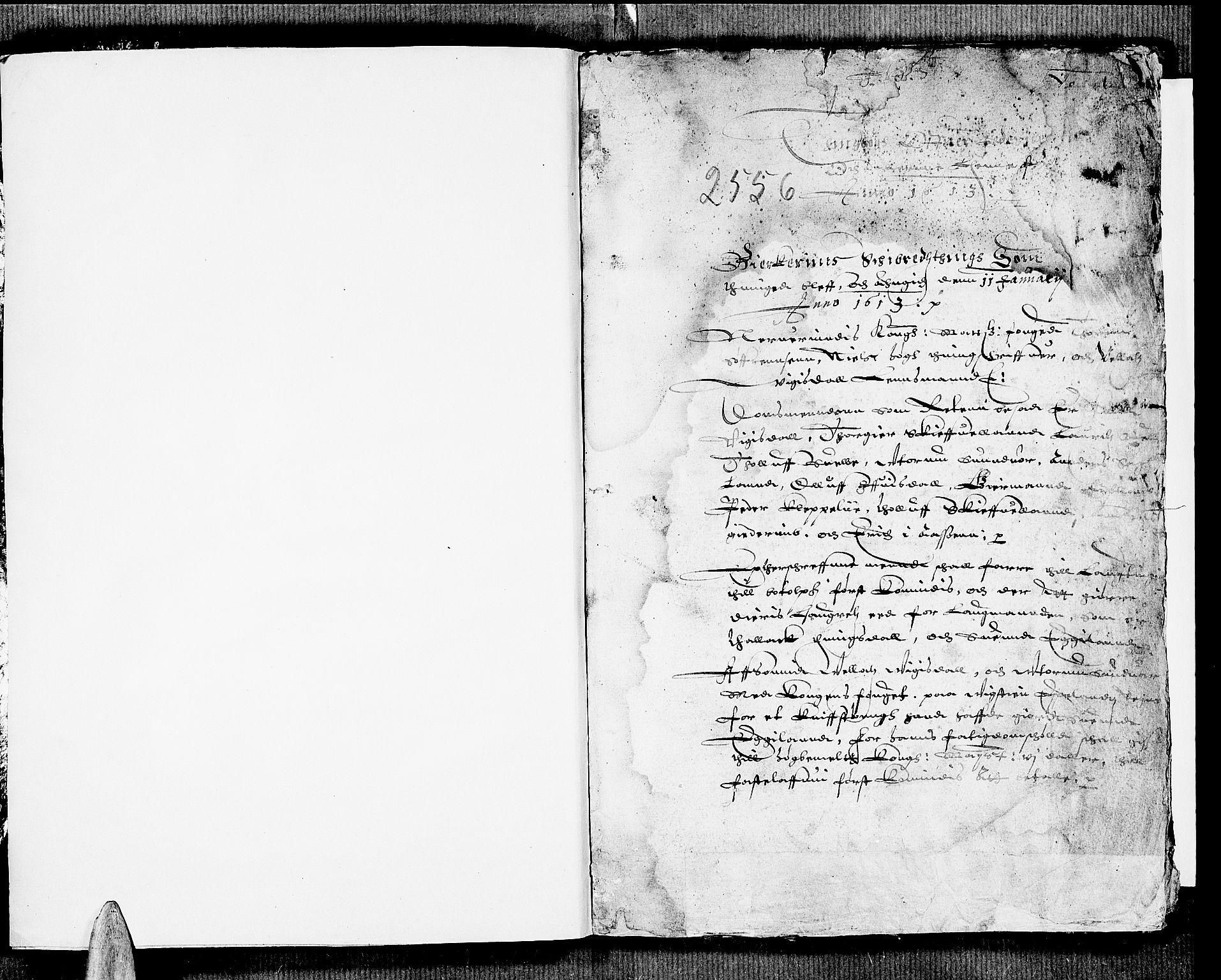 SAST, Jæren og Dalane sorenskriveri, 3/30/30BA/L0001: TINGBOK, 1613, s. 0b-1a