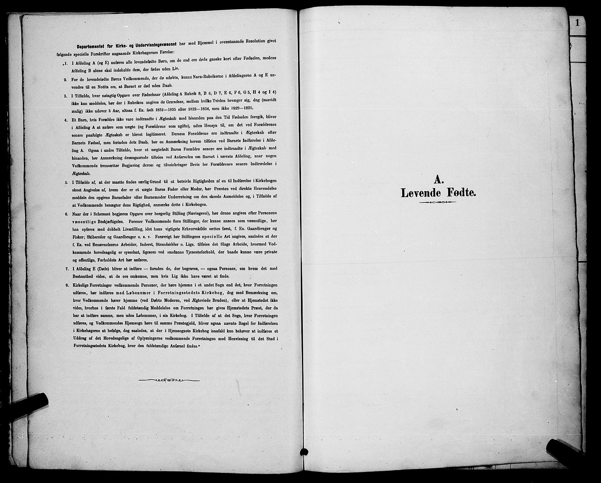 SAKO, Sigdal kirkebøker, G/Ga/L0005: Klokkerbok nr. I 5, 1886-1900