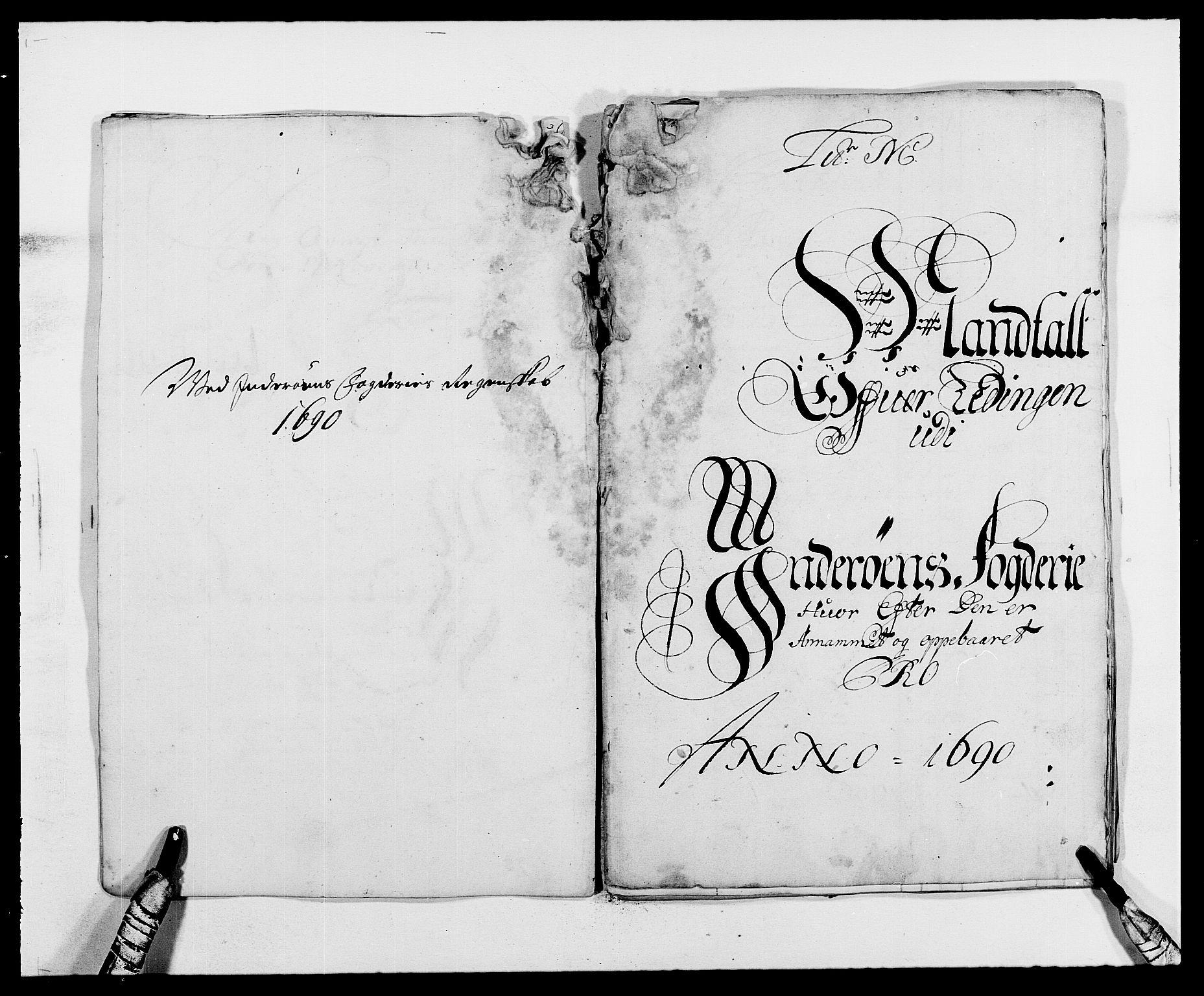 RA, Rentekammeret inntil 1814, Reviderte regnskaper, Fogderegnskap, R63/L4307: Fogderegnskap Inderøy, 1690-1691, s. 155