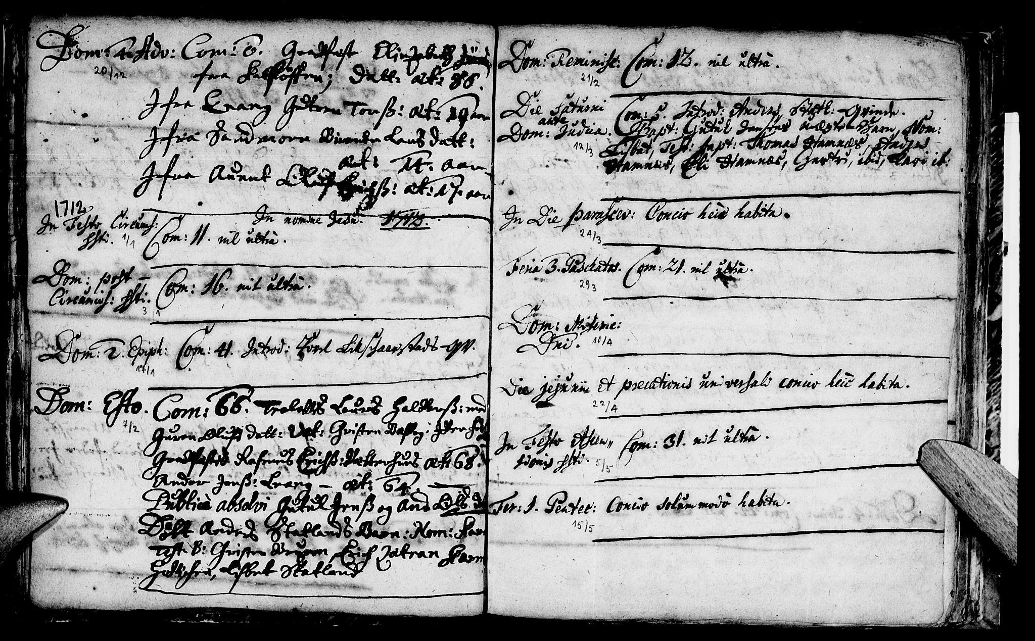 SAT, Ministerialprotokoller, klokkerbøker og fødselsregistre - Nord-Trøndelag, 774/L0627: Ministerialbok nr. 774A01, 1693-1738
