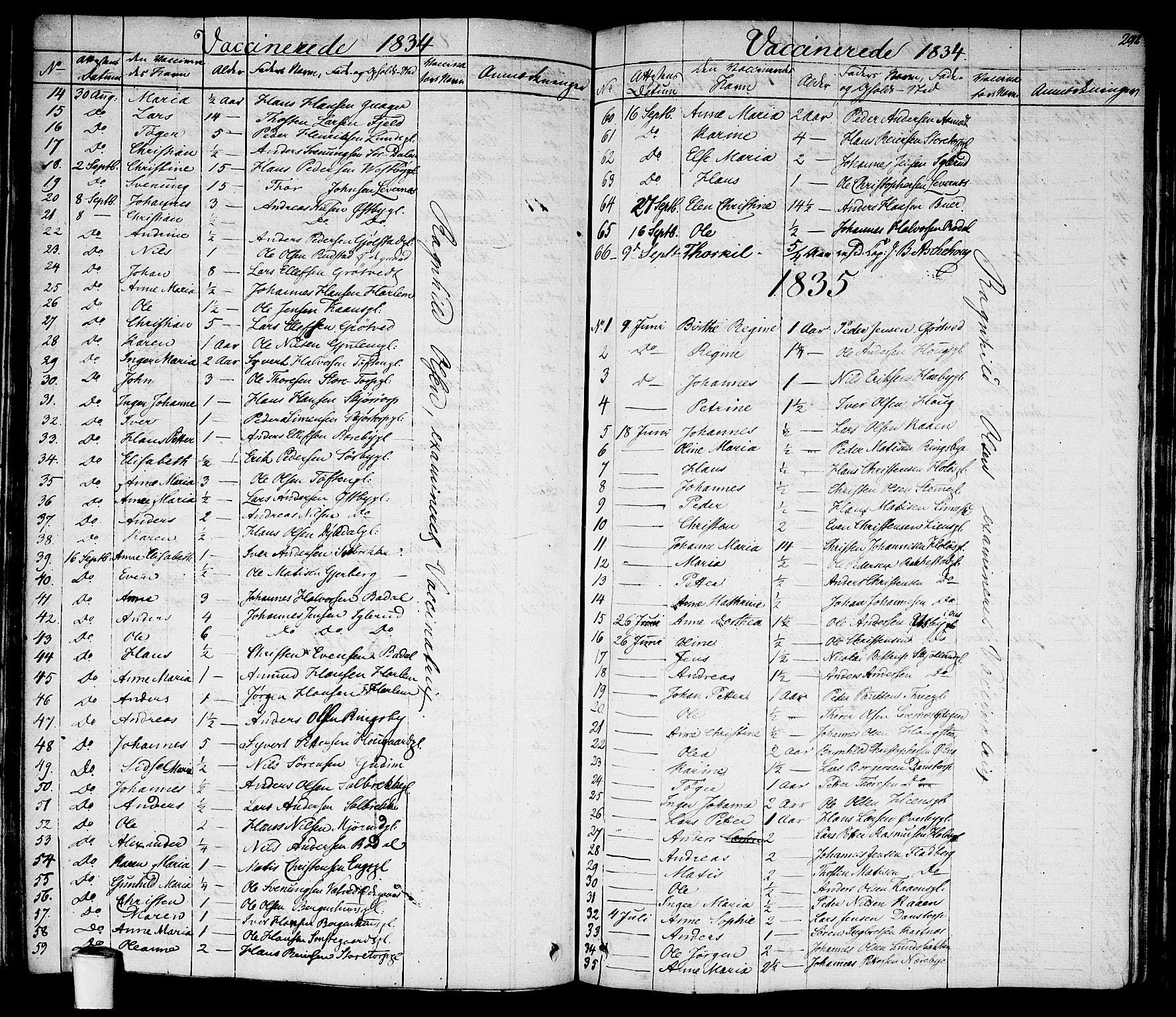 SAO, Rakkestad prestekontor Kirkebøker, F/Fa/L0007: Ministerialbok nr. I 7, 1825-1841, s. 292