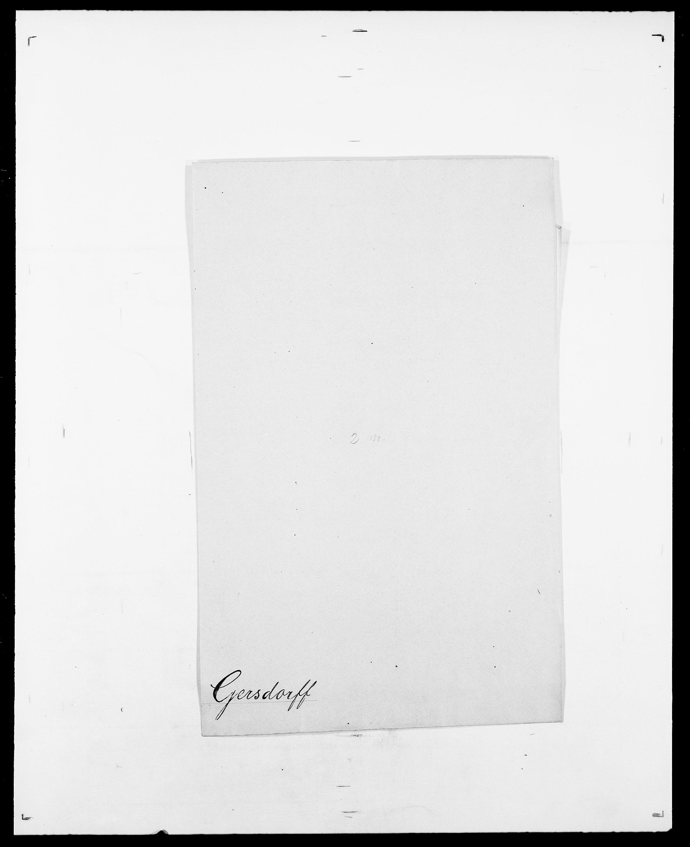SAO, Delgobe, Charles Antoine - samling, D/Da/L0013: Forbos - Geving, s. 643