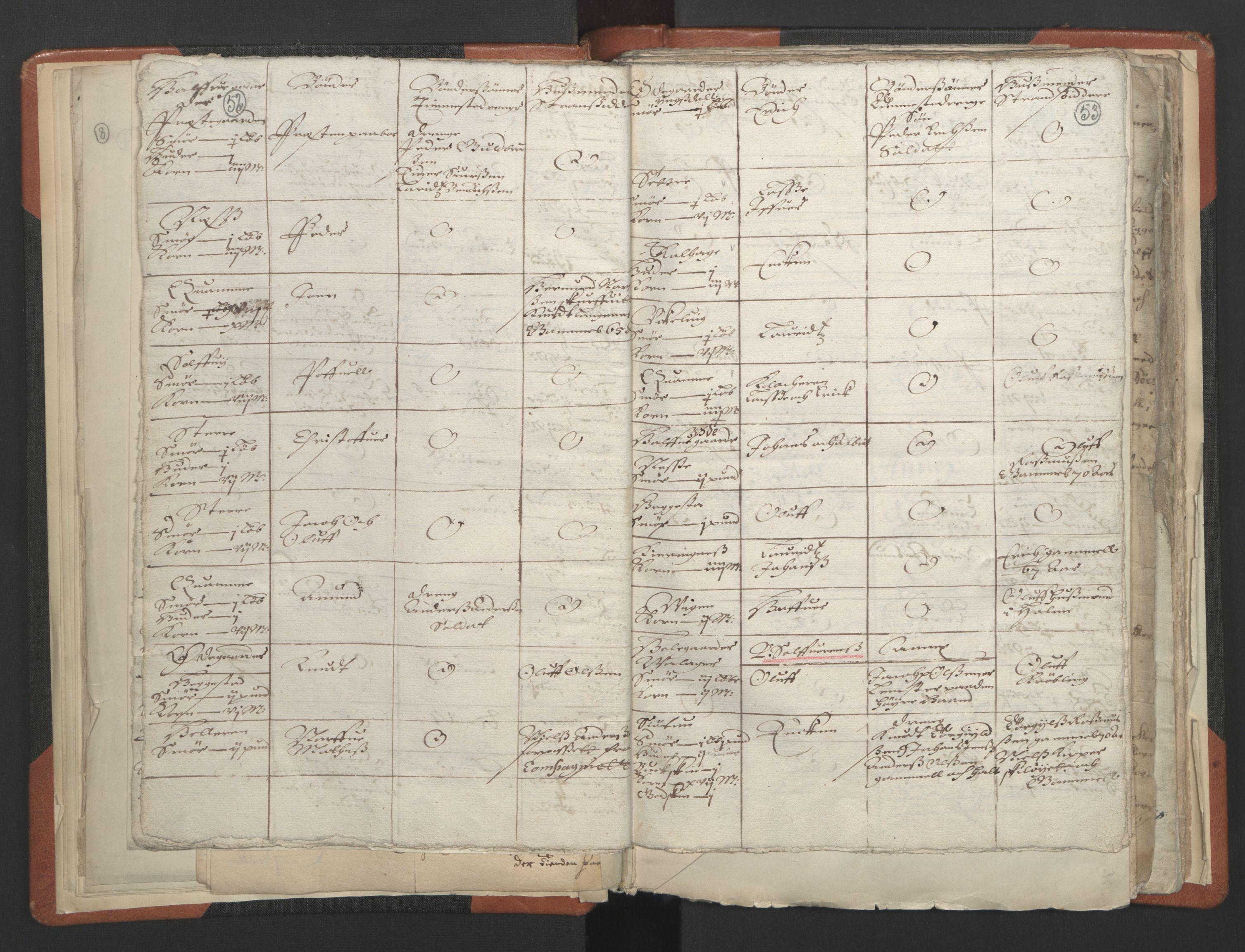 RA, Sogneprestenes manntall 1664-1666, nr. 23: Sogn prosti, 1664-1666, s. 52-53