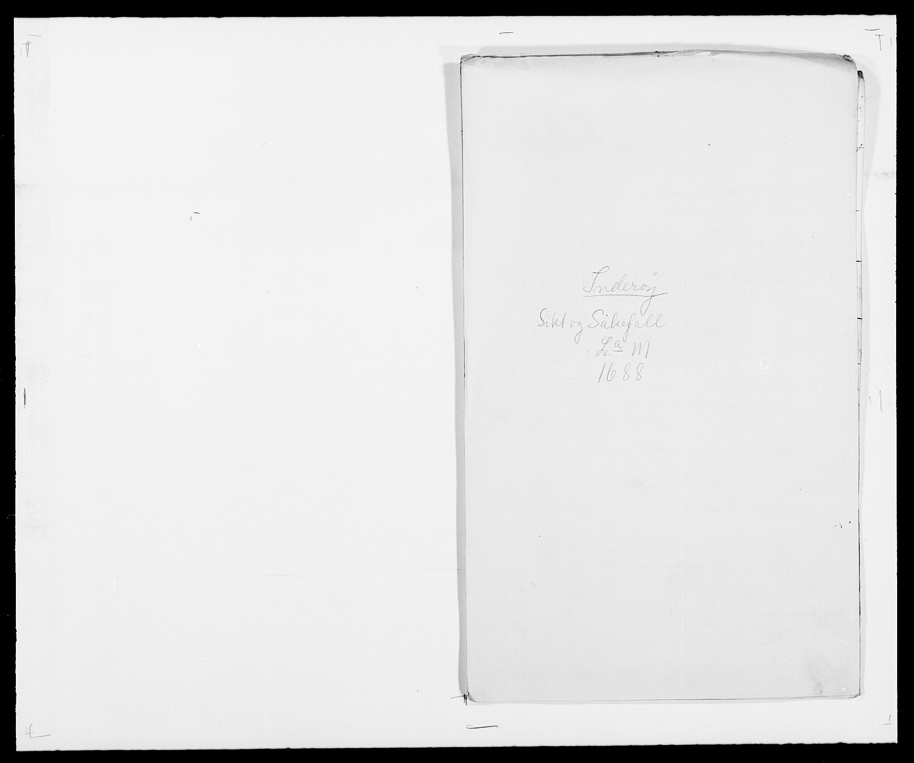 RA, Rentekammeret inntil 1814, Reviderte regnskaper, Fogderegnskap, R63/L4306: Fogderegnskap Inderøy, 1687-1689, s. 335