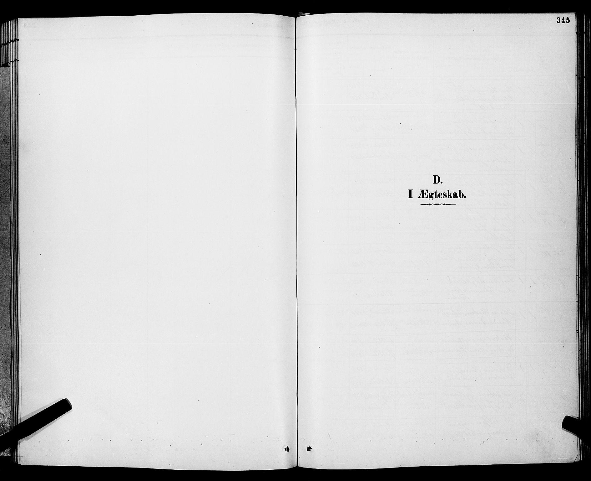 SAKO, Gjerpen kirkebøker, G/Ga/L0002: Klokkerbok nr. I 2, 1883-1900, s. 345