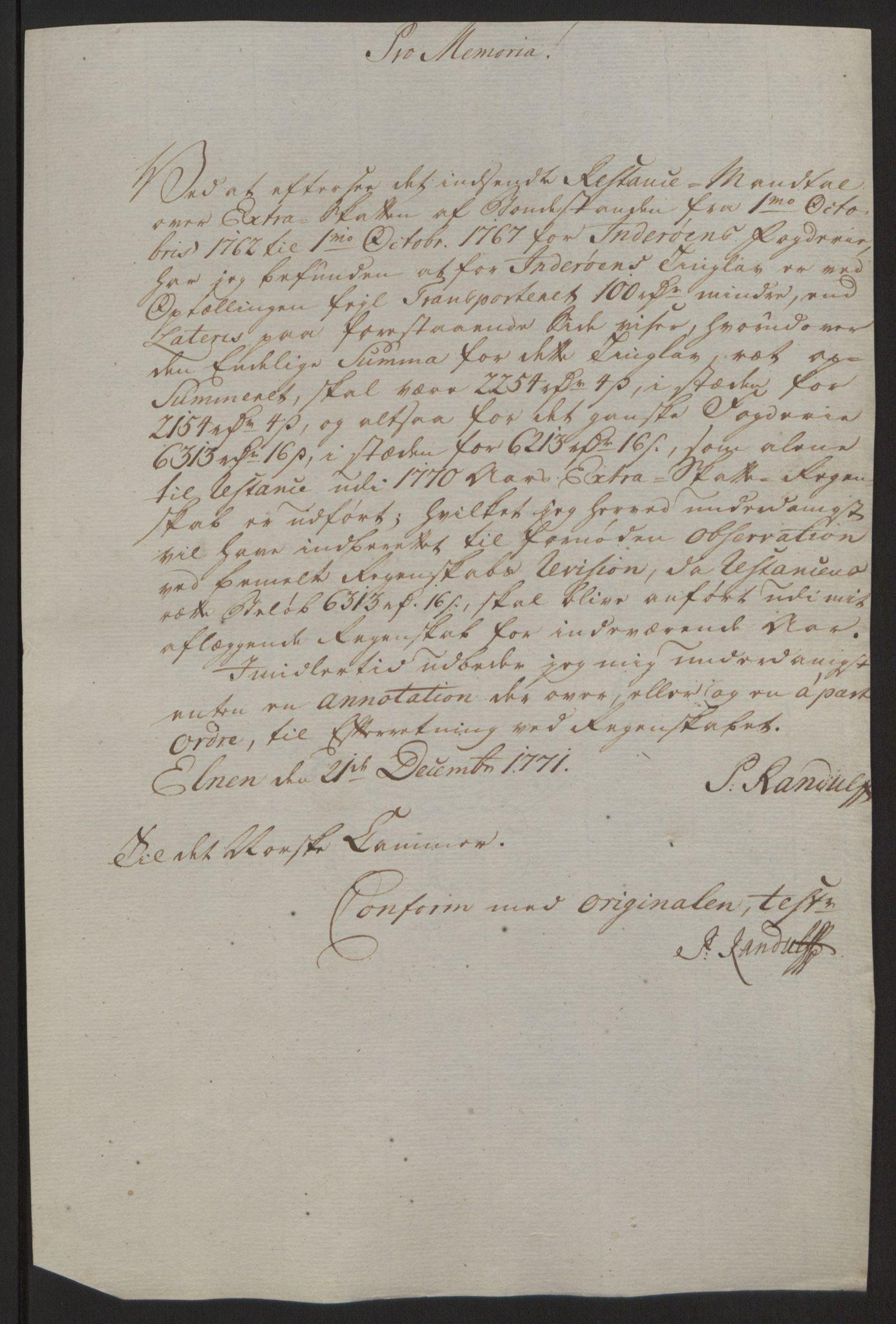 RA, Rentekammeret inntil 1814, Reviderte regnskaper, Fogderegnskap, R63/L4420: Ekstraskatten Inderøy, 1762-1772, s. 475