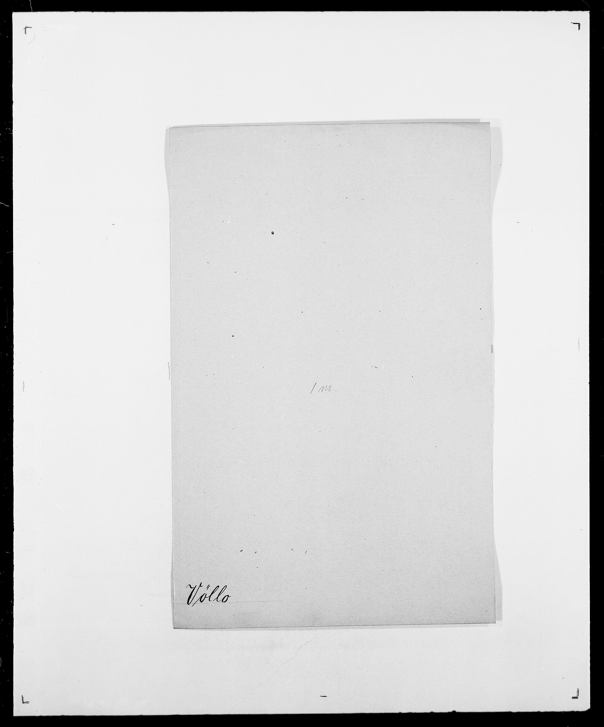 SAO, Delgobe, Charles Antoine - samling, D/Da/L0043: Wulfsberg - v. Zanten, s. 38