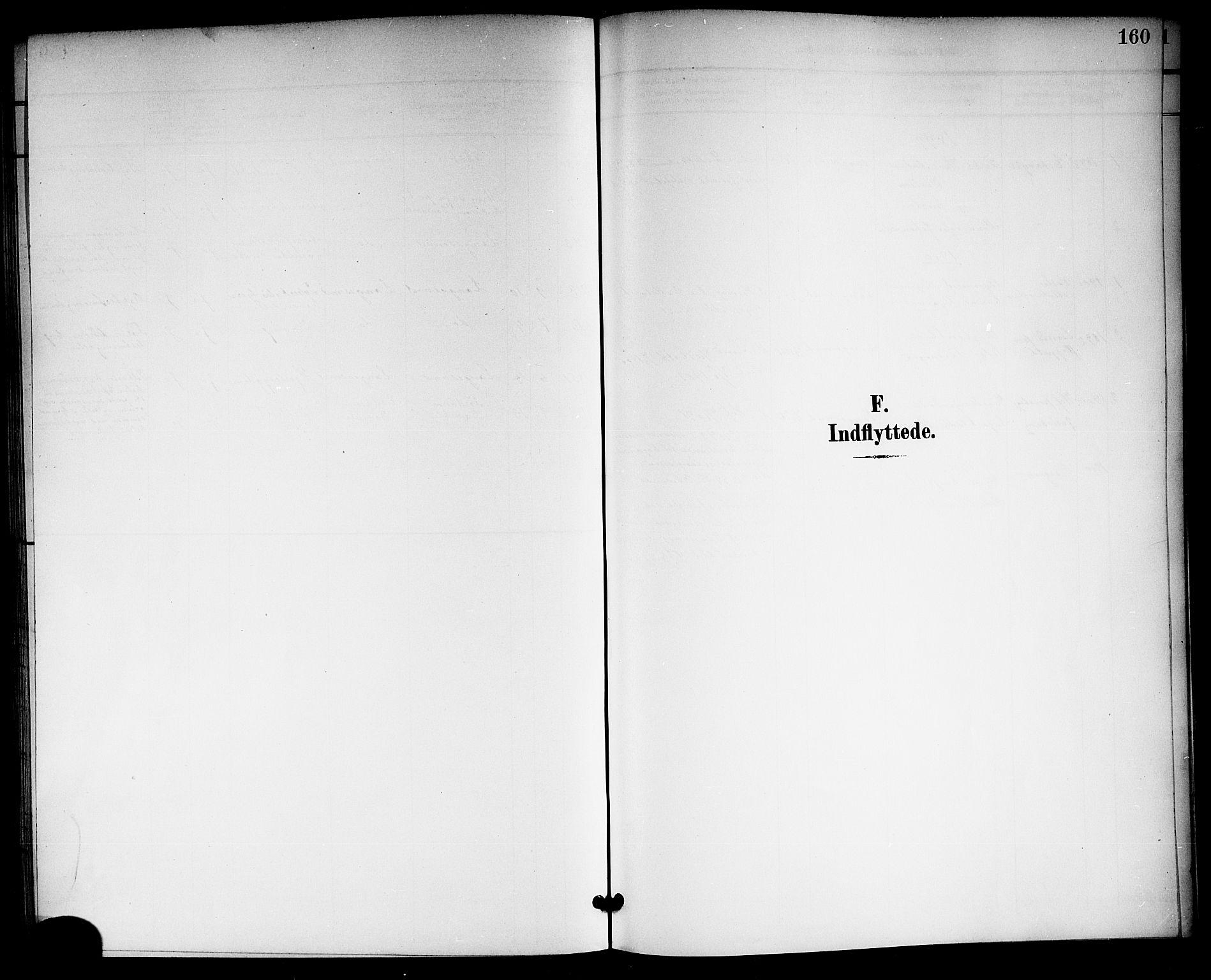 SAKO, Langesund kirkebøker, G/Ga/L0006: Klokkerbok nr. 6, 1899-1918, s. 160