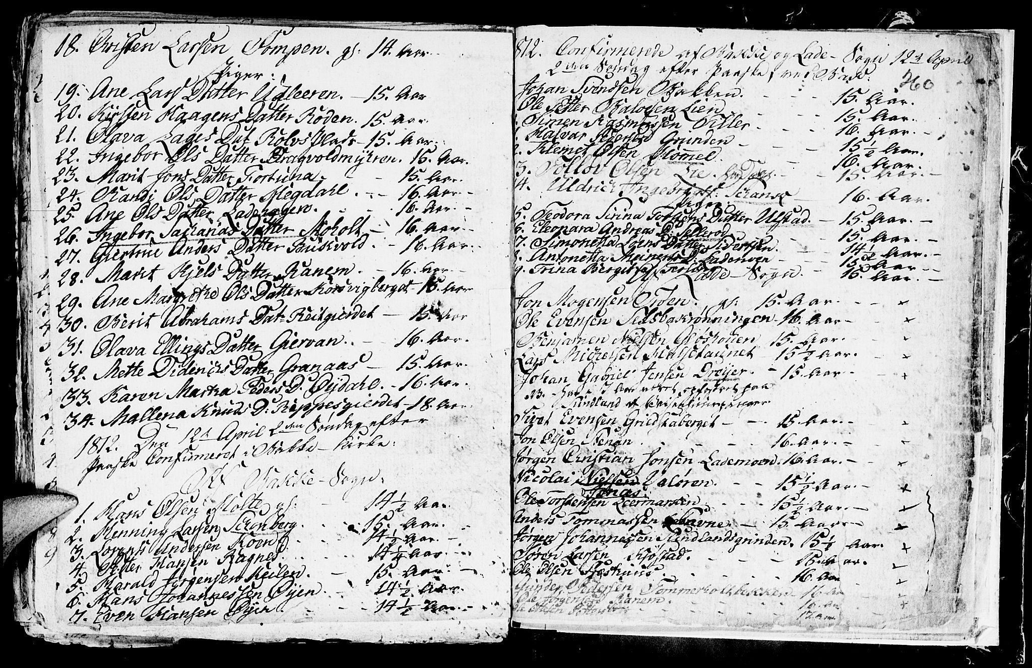 SAT, Ministerialprotokoller, klokkerbøker og fødselsregistre - Sør-Trøndelag, 604/L0218: Klokkerbok nr. 604C01, 1754-1819, s. 260