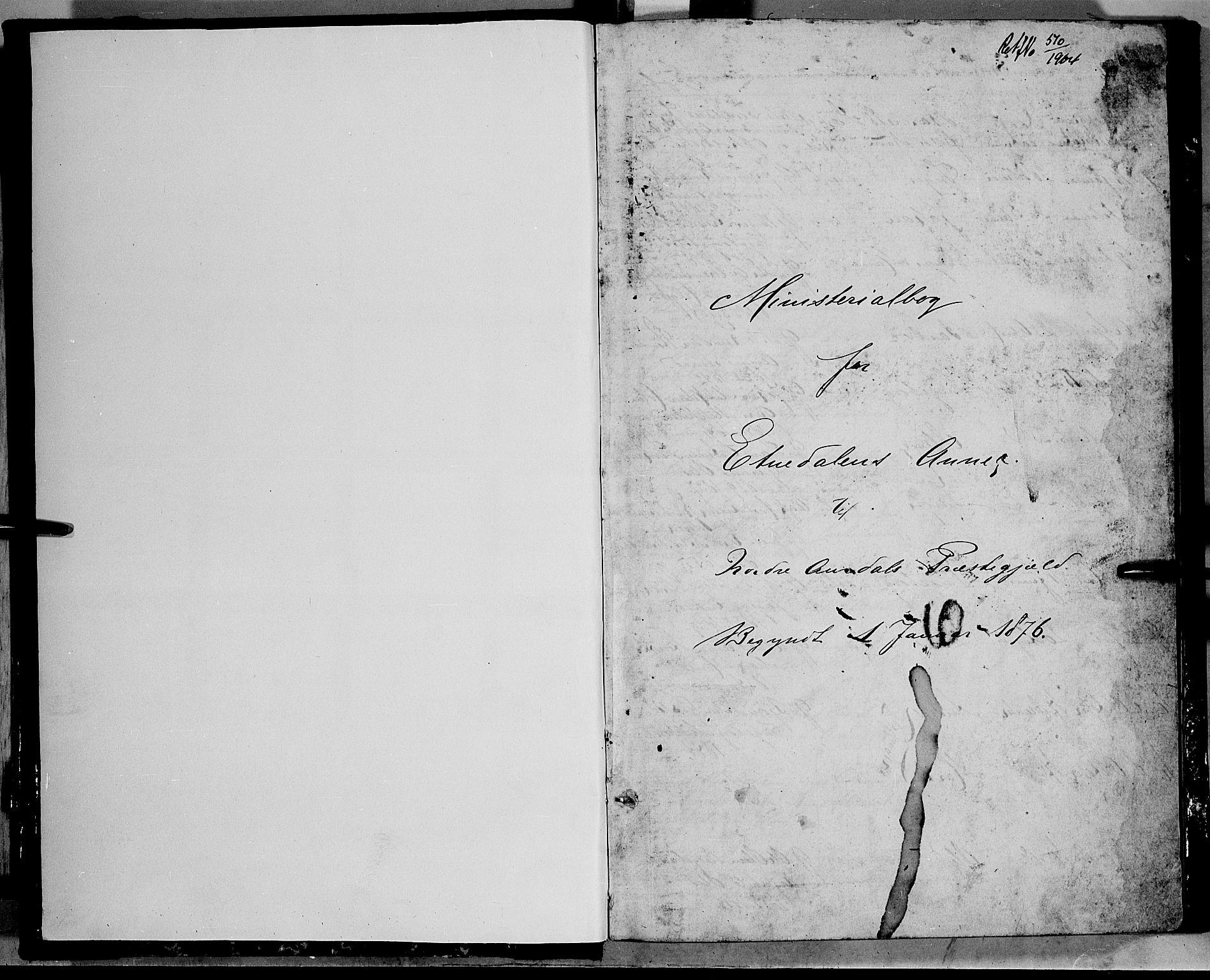 SAH, Nord-Aurdal prestekontor, Klokkerbok nr. 5, 1876-1895