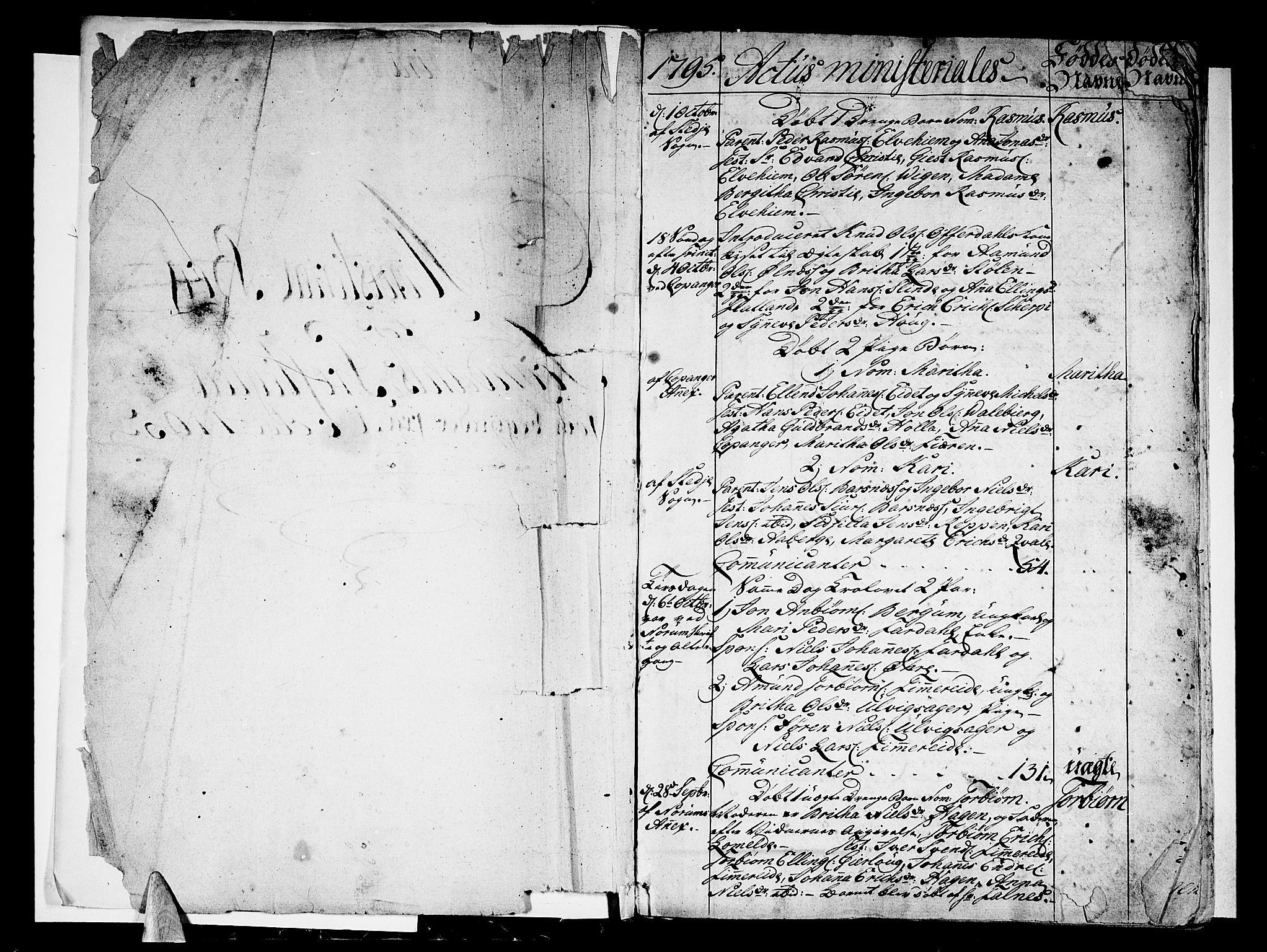 SAB, Sogndal Sokneprestembete, H/Haa/Haaa/L0008: Ministerialbok nr. A 8, 1795-1809, s. 2