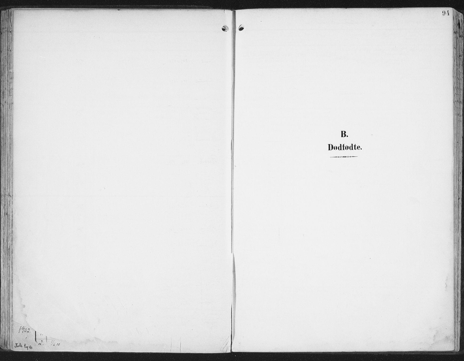 SAT, Ministerialprotokoller, klokkerbøker og fødselsregistre - Nord-Trøndelag, 786/L0688: Ministerialbok nr. 786A04, 1899-1912, s. 94