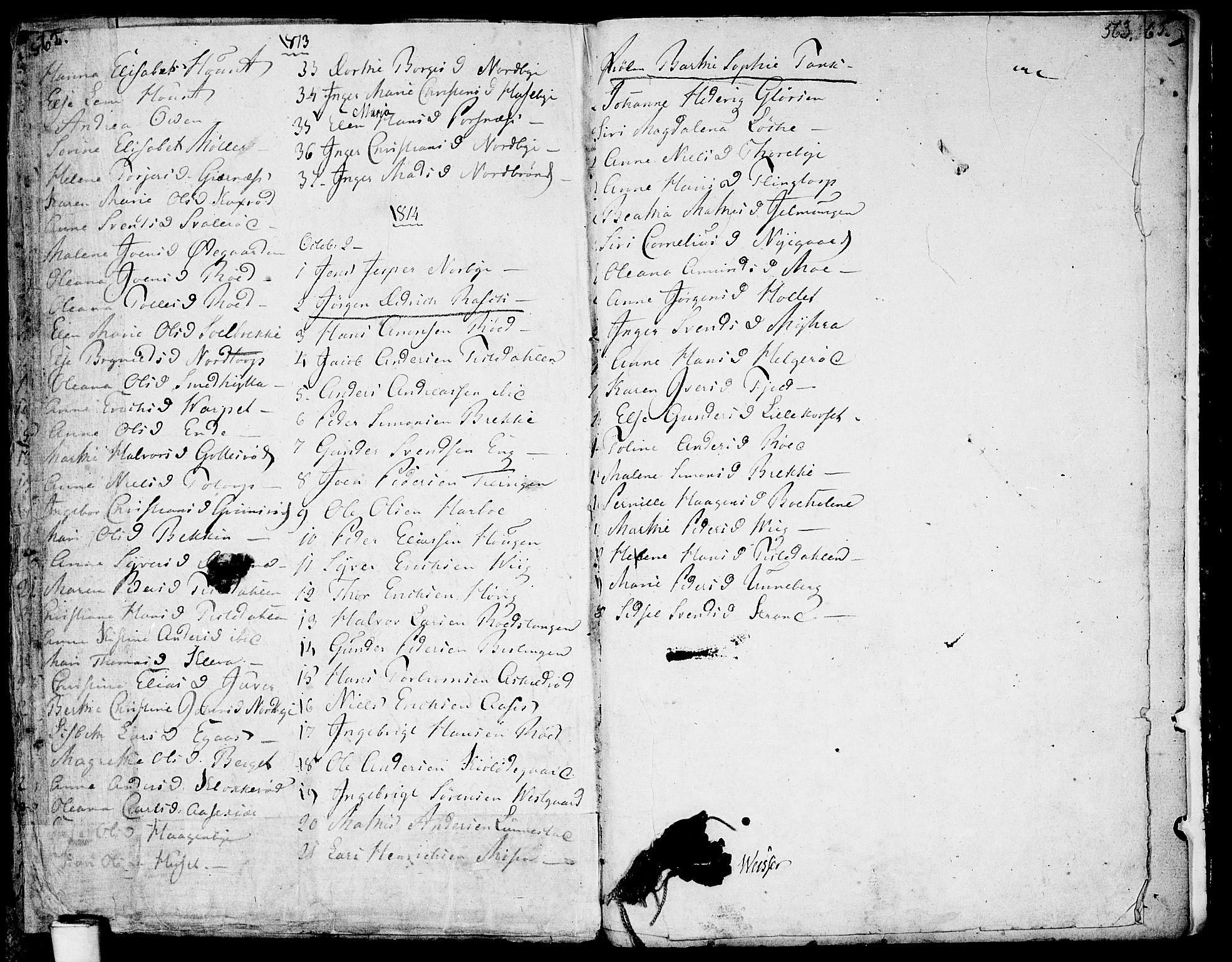 SAO, Berg prestekontor Kirkebøker, F/Fa/L0001: Ministerialbok nr. I 1, 1770-1814, s. 562-563