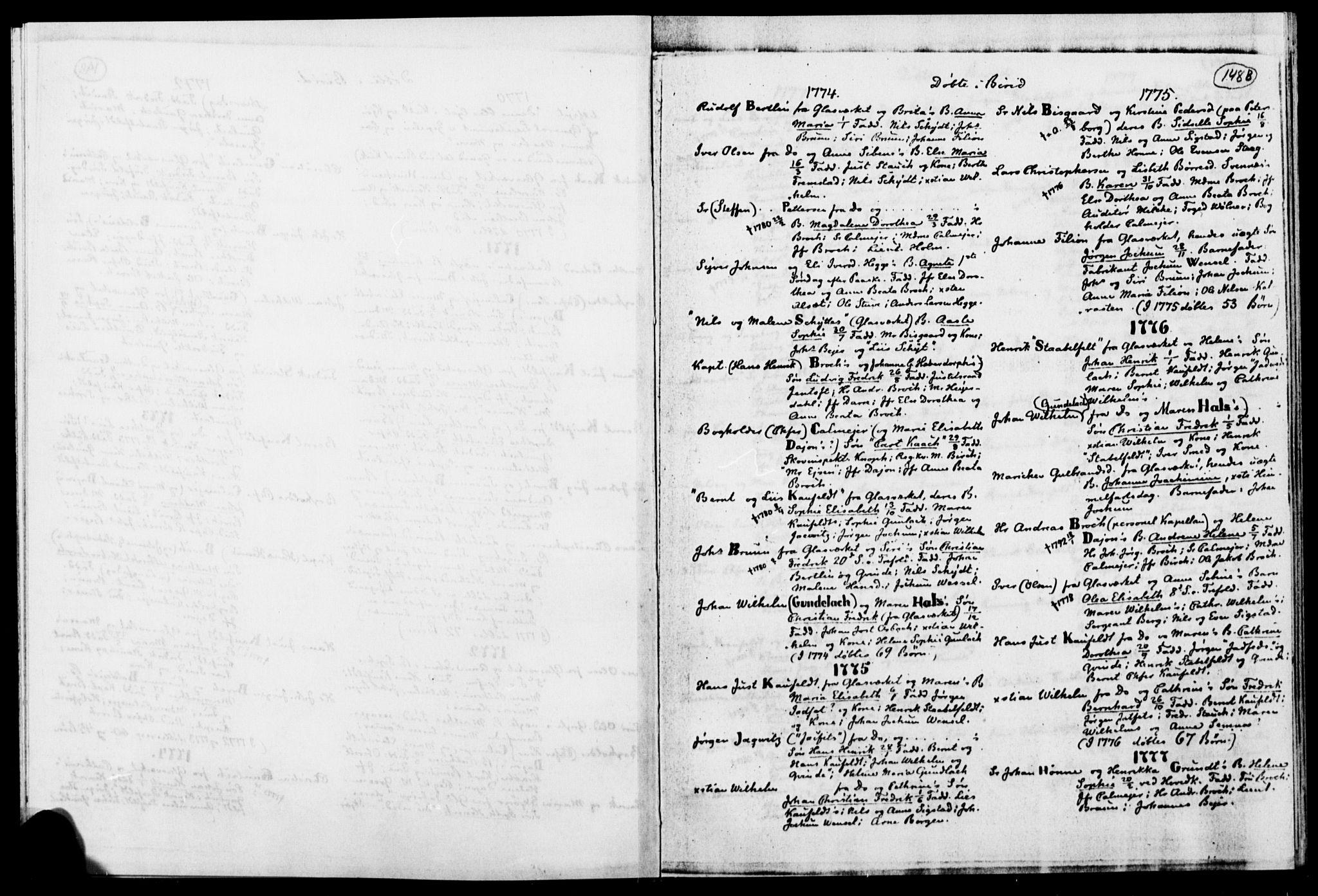 SAH, Biri prestekontor, Ministerialbok, 1730-1879, s. 148b