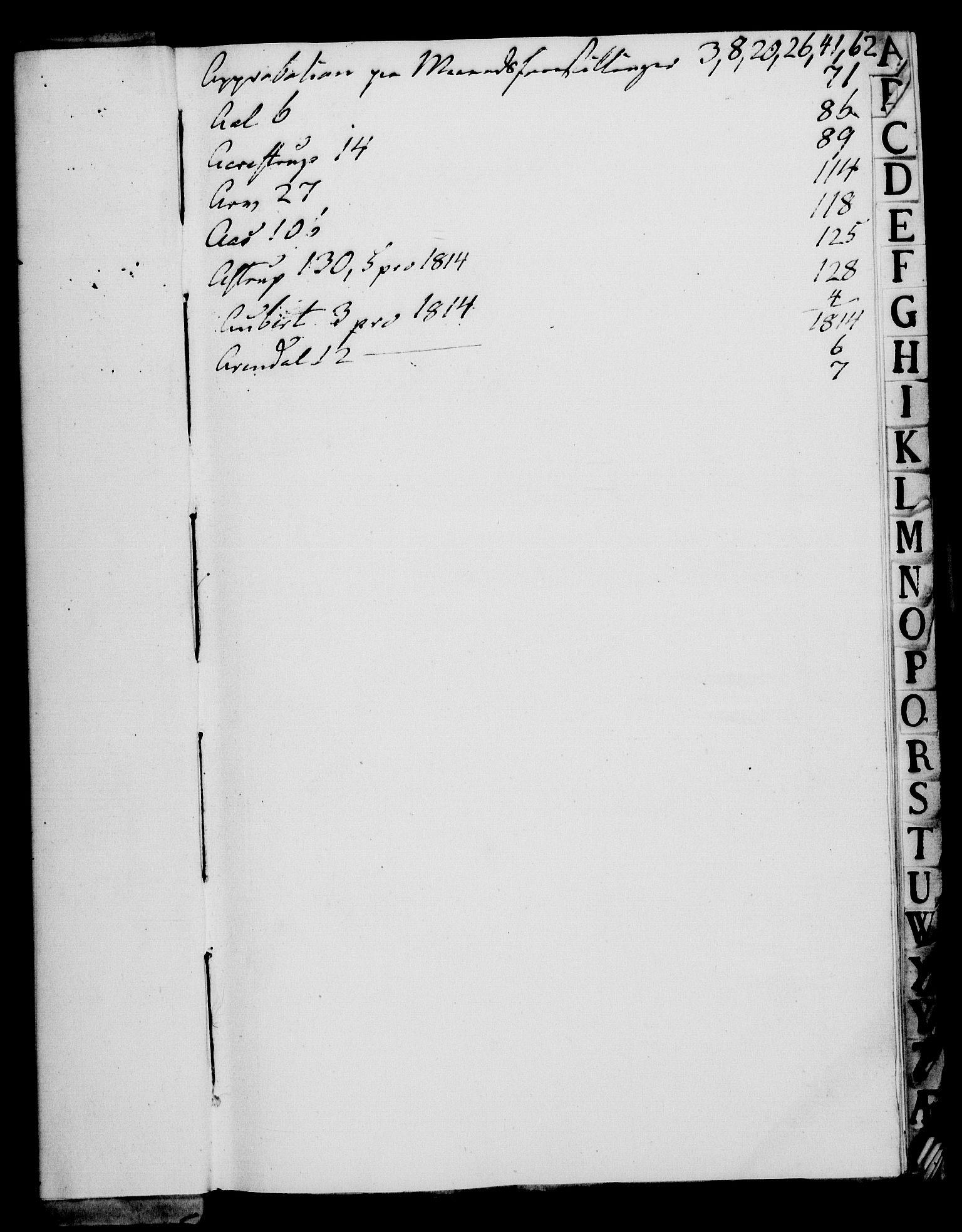 RA, Rentekammeret, Kammerkanselliet, G/Gf/Gfa/L0095: Norsk relasjons- og resolusjonsprotokoll (merket RK 52.95), 1813-1814, s. 3