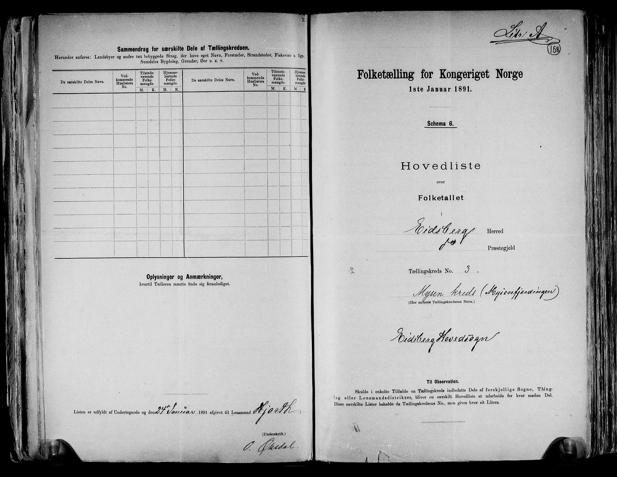 RA, Folketelling 1891 for 0125 Eidsberg herred, 1891, s. 10