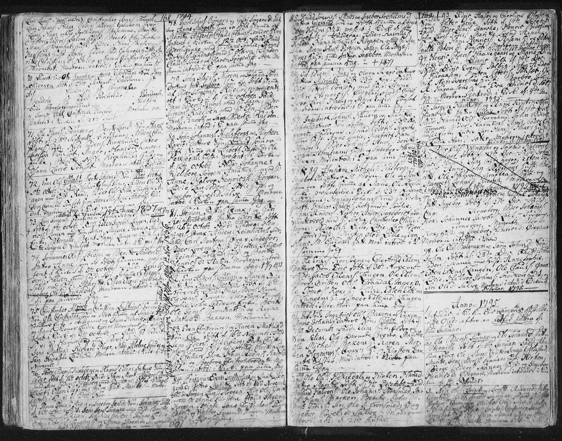 SAT, Ministerialprotokoller, klokkerbøker og fødselsregistre - Sør-Trøndelag, 681/L0926: Ministerialbok nr. 681A04, 1767-1797, s. 156