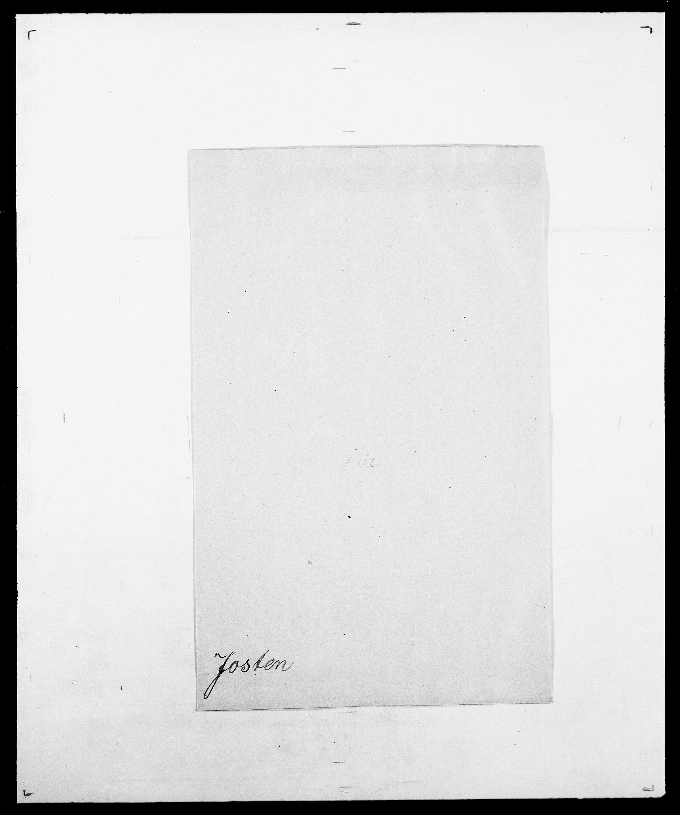 SAO, Delgobe, Charles Antoine - samling, D/Da/L0019: van der Hude - Joys, s. 919