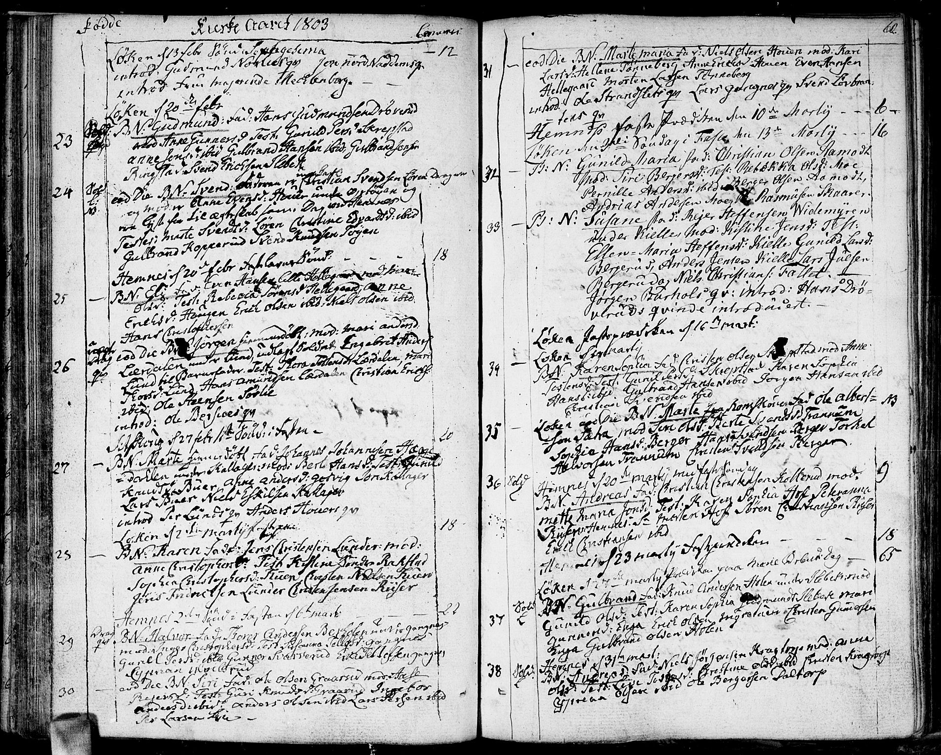SAO, Høland prestekontor Kirkebøker, F/Fa/L0006: Ministerialbok nr. I 6, 1794-1814, s. 60