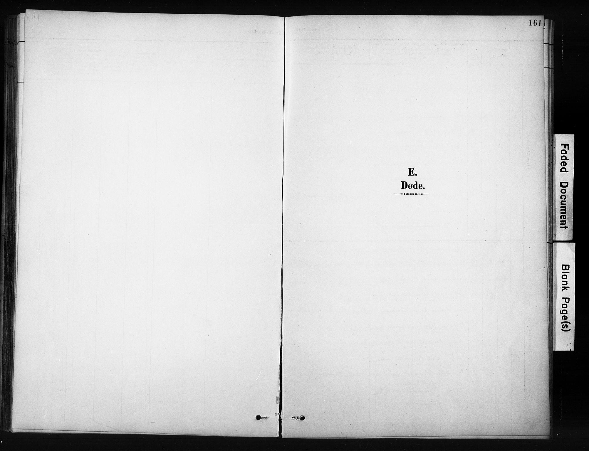 SAH, Nordre Land prestekontor, Klokkerbok nr. 12, 1891-1909, s. 161