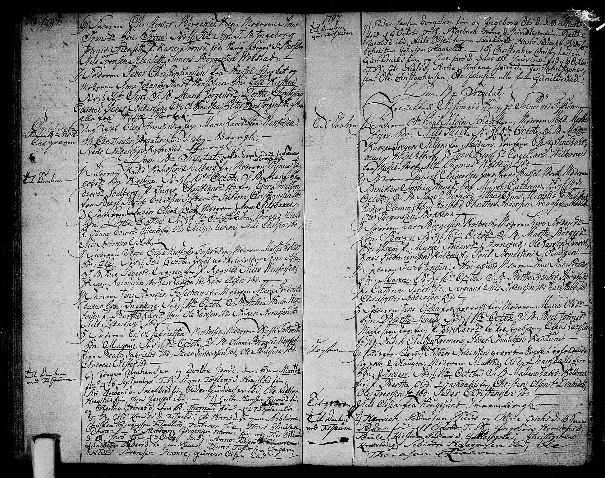 SAKO, Eiker kirkebøker, F/Fa/L0009: Ministerialbok nr. I 9, 1789-1806, s. 202-203
