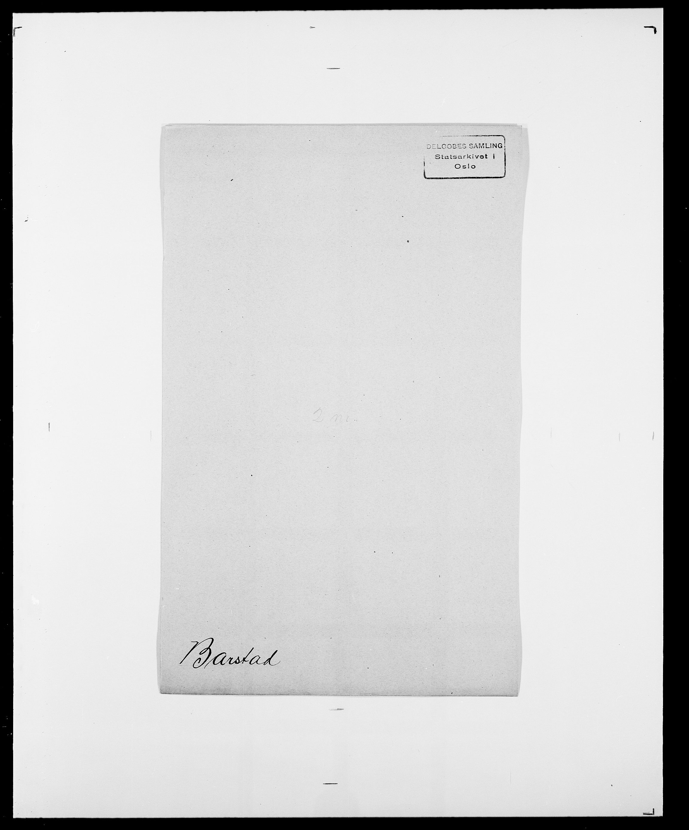 SAO, Delgobe, Charles Antoine - samling, D/Da/L0003: Barca - Bergen, s. 371
