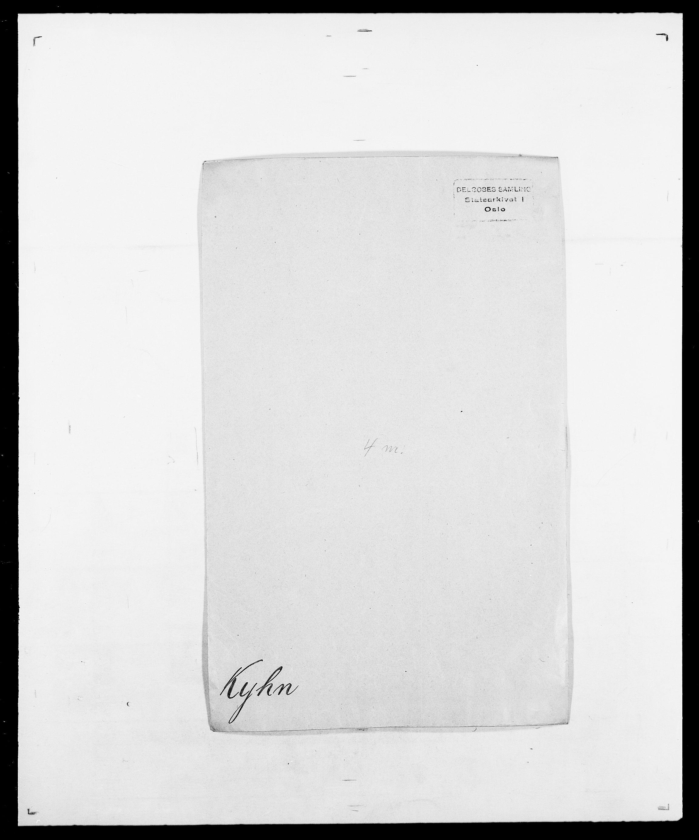 SAO, Delgobe, Charles Antoine - samling, D/Da/L0022: Krog - Lasteen, s. 259