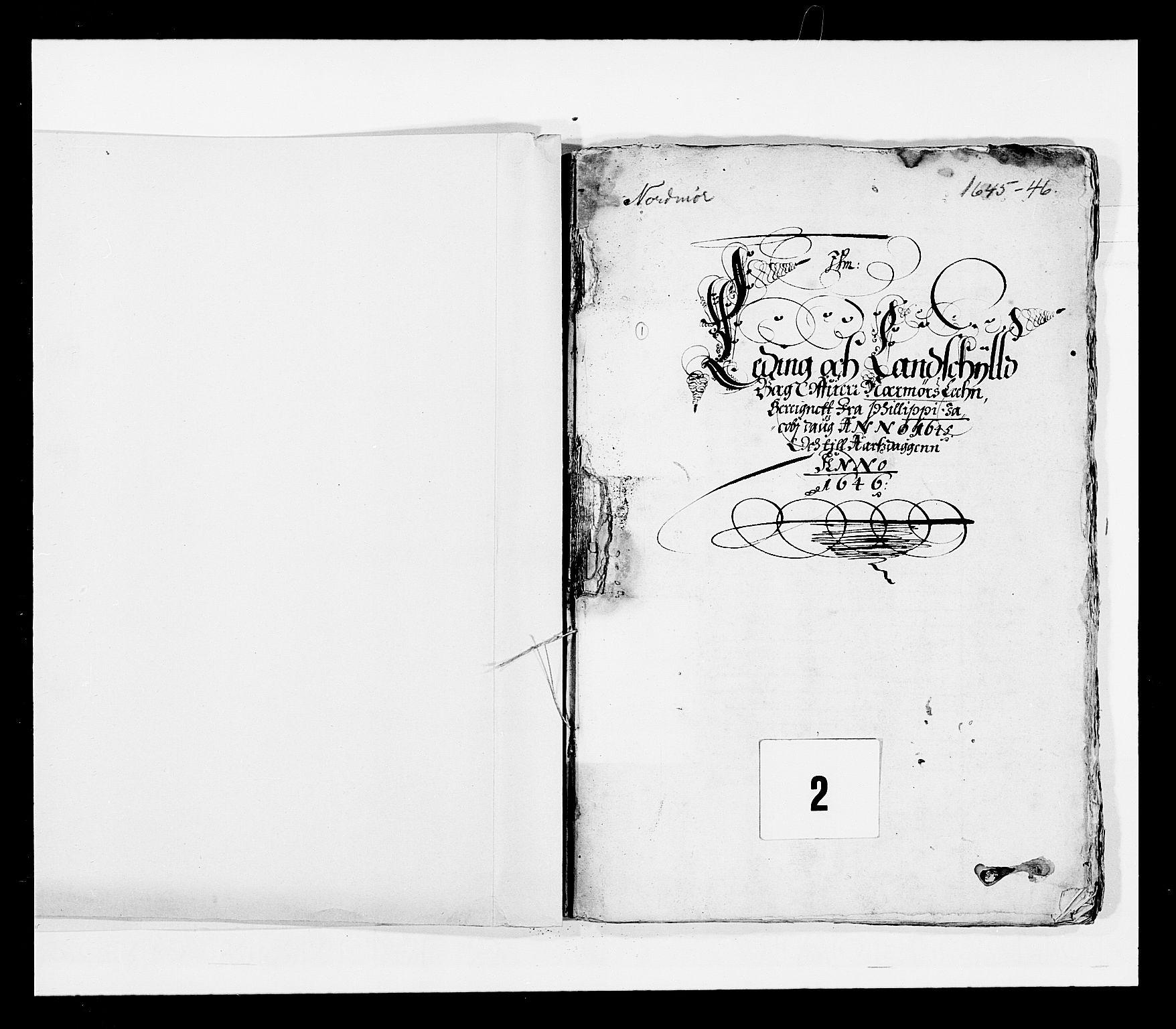 RA, Stattholderembetet 1572-1771, Ek/L0028: Jordebøker 1633-1658:, 1645-1646, s. 2