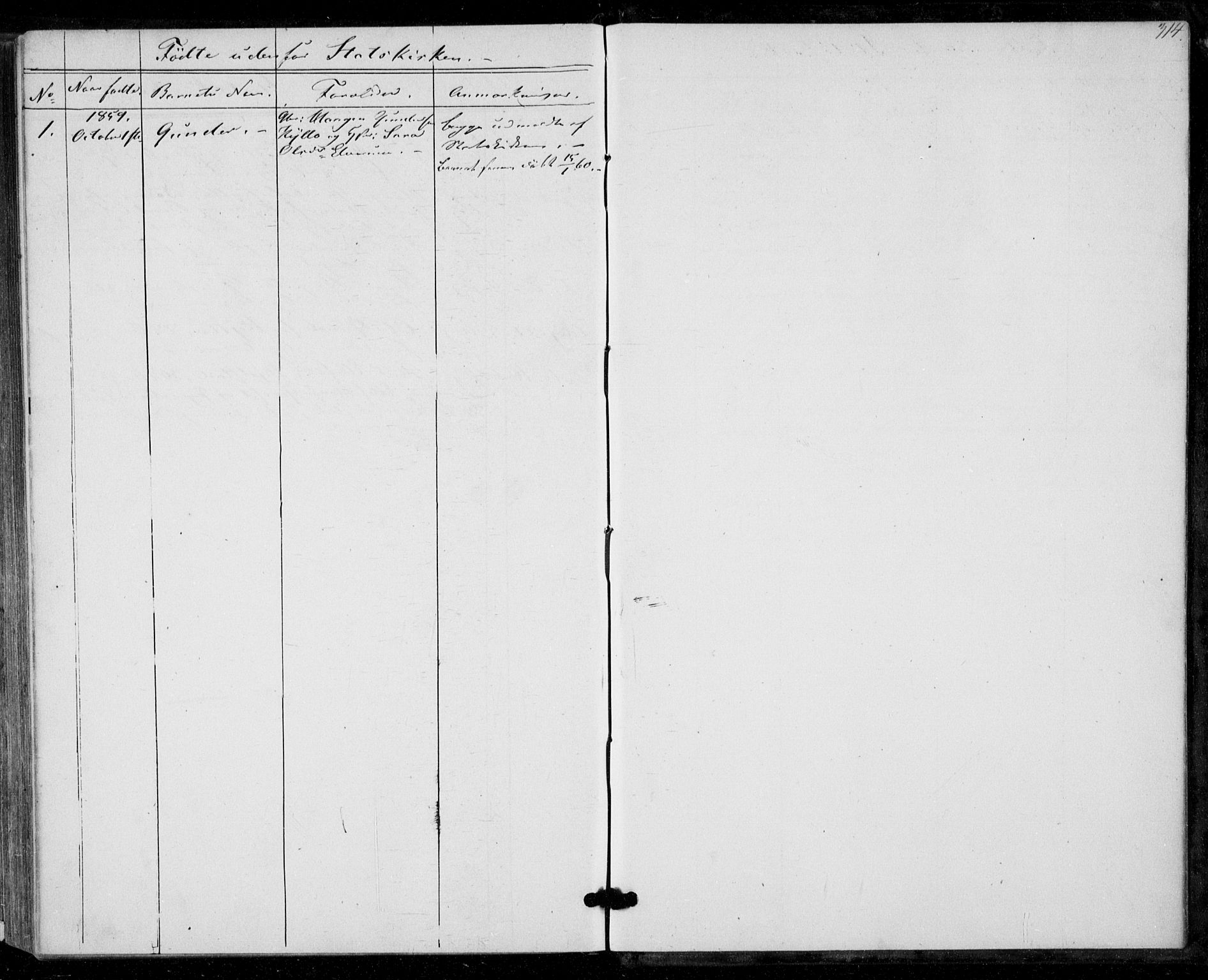 SAT, Ministerialprotokoller, klokkerbøker og fødselsregistre - Nord-Trøndelag, 703/L0028: Ministerialbok nr. 703A01, 1850-1862, s. 314