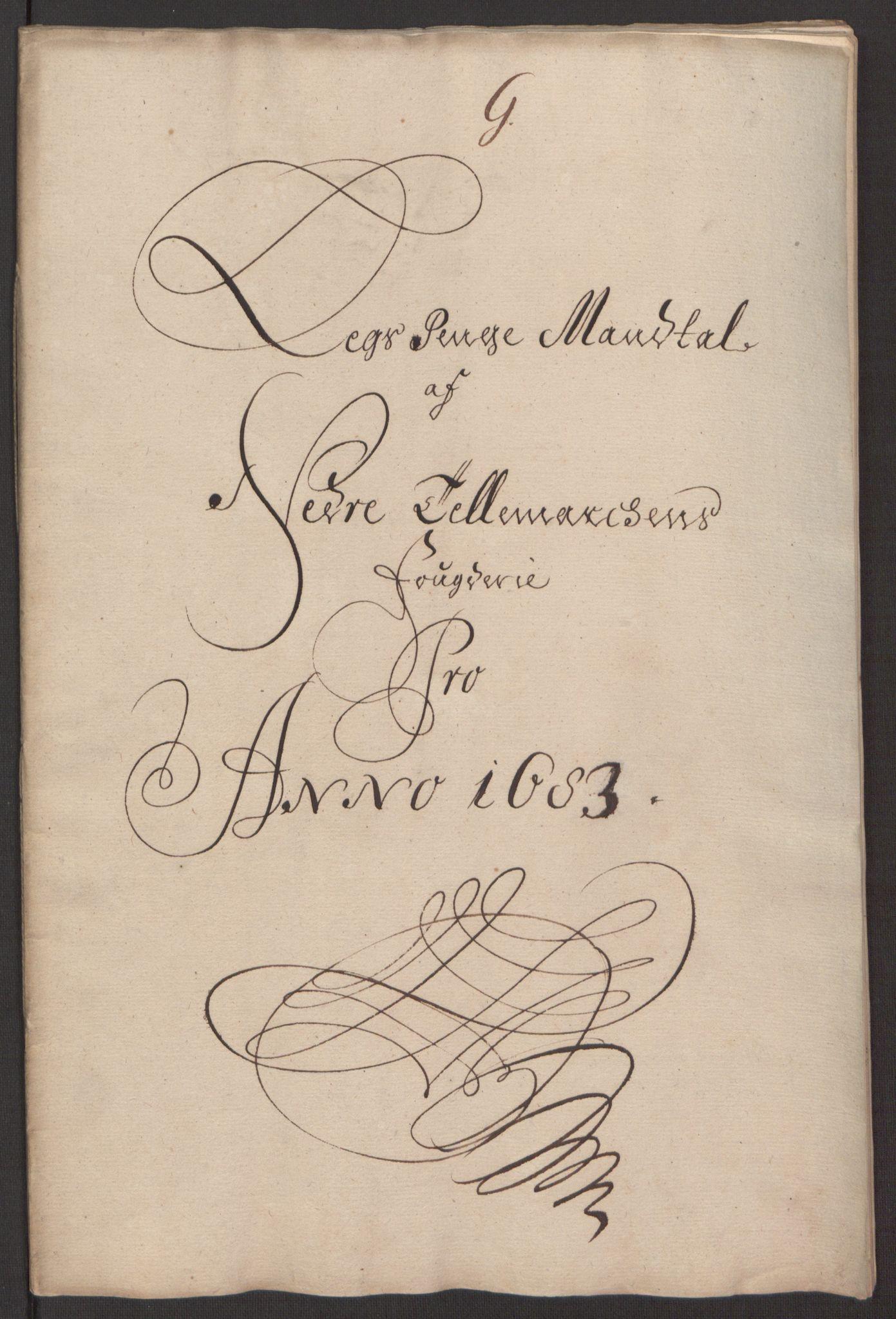 RA, Rentekammeret inntil 1814, Reviderte regnskaper, Fogderegnskap, R35/L2080: Fogderegnskap Øvre og Nedre Telemark, 1680-1684, s. 106