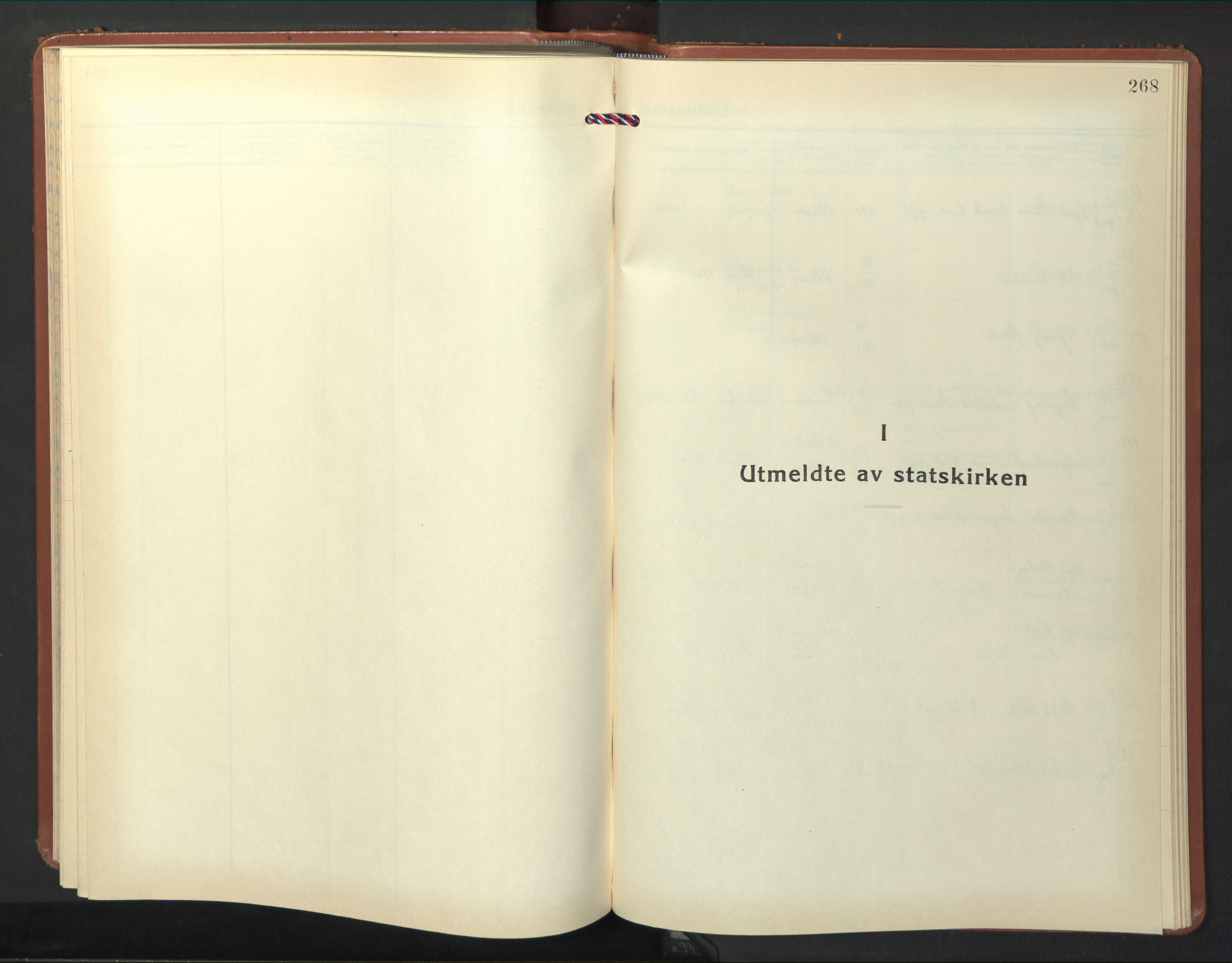 SAT, Ministerialprotokoller, klokkerbøker og fødselsregistre - Nord-Trøndelag, 774/L0631: Klokkerbok nr. 774C02, 1934-1950, s. 268