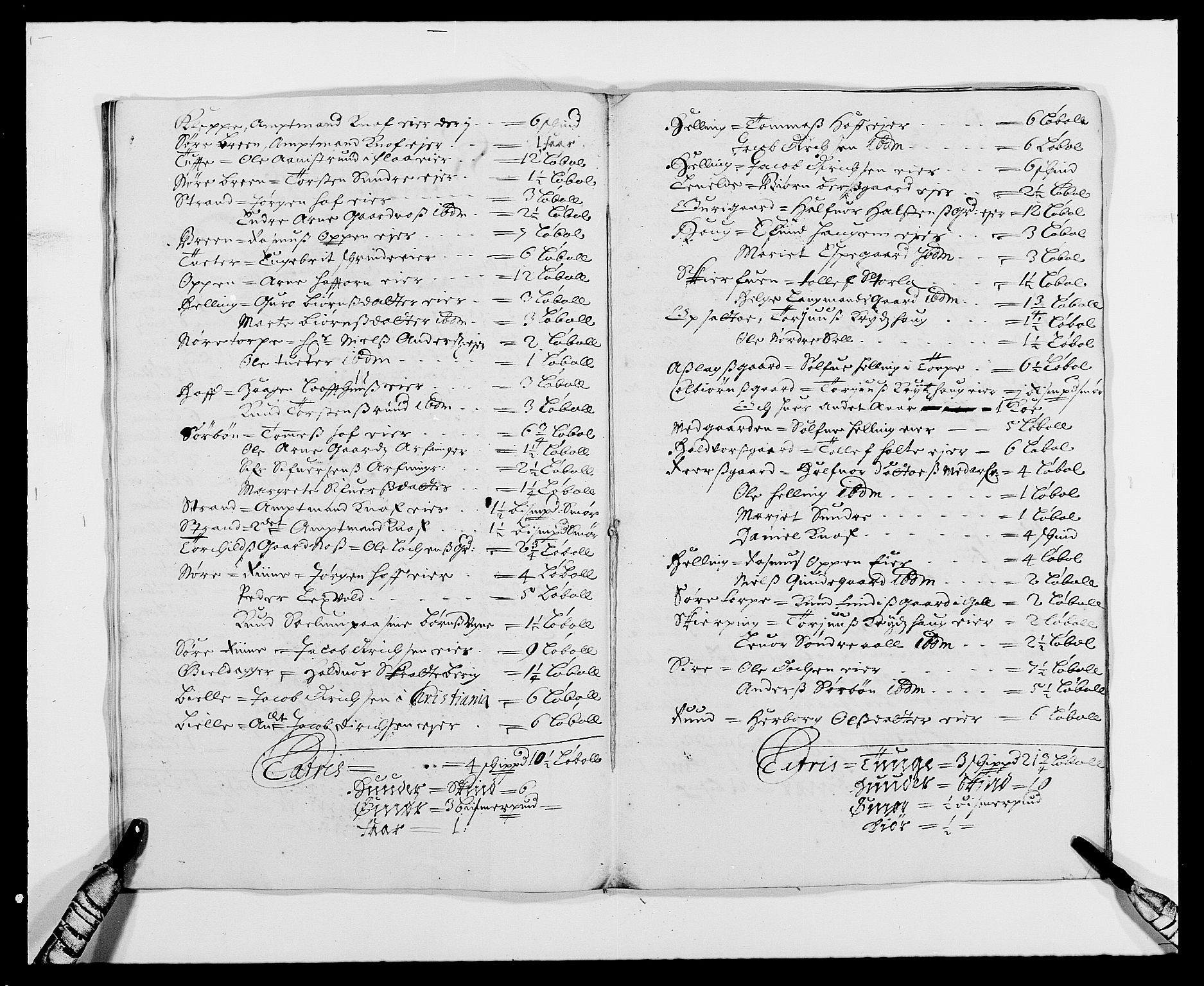 RA, Rentekammeret inntil 1814, Reviderte regnskaper, Fogderegnskap, R21/L1445: Fogderegnskap Ringerike og Hallingdal, 1681-1689, s. 363