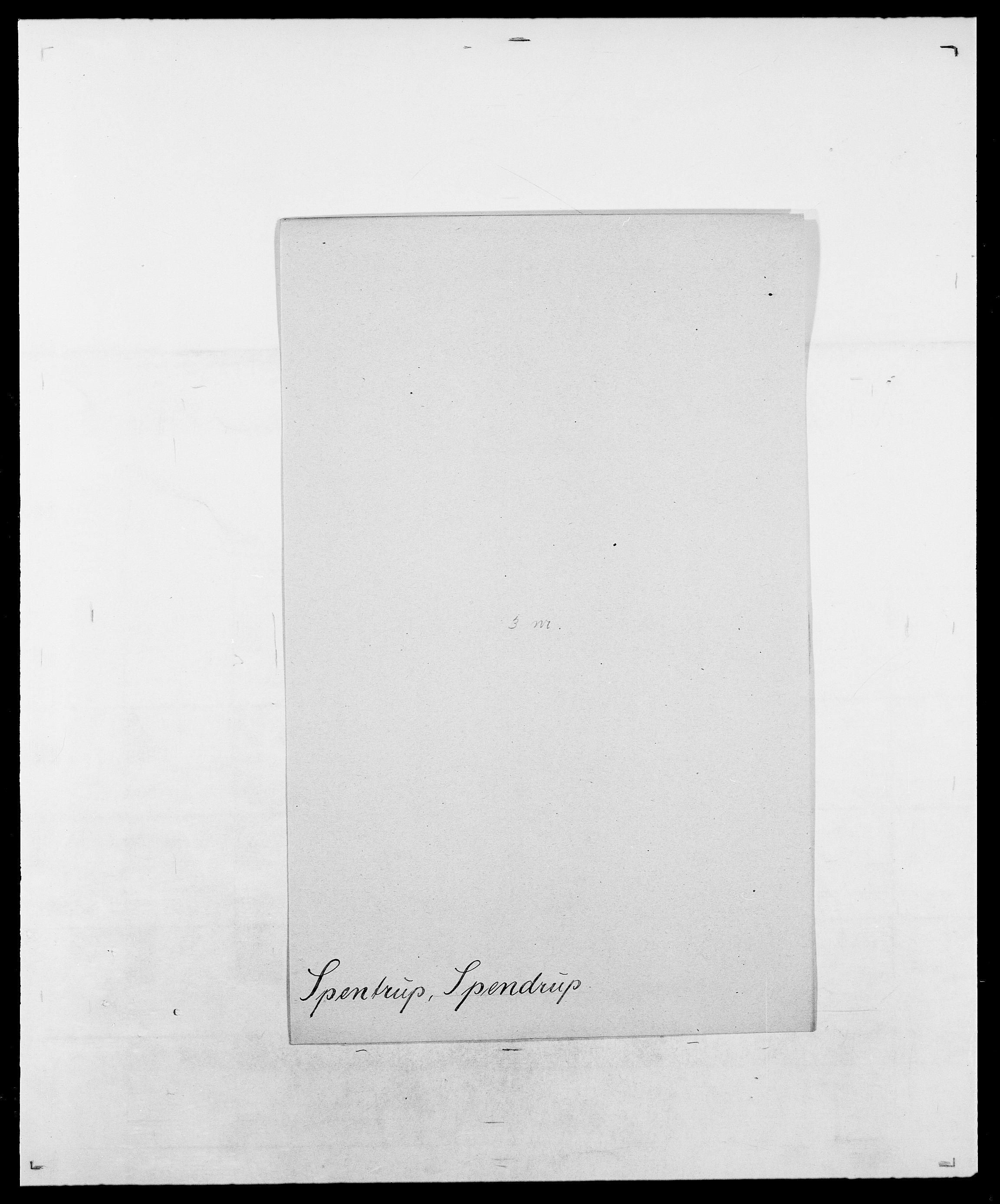 SAO, Delgobe, Charles Antoine - samling, D/Da/L0036: Skaanør - Staverskov, s. 537