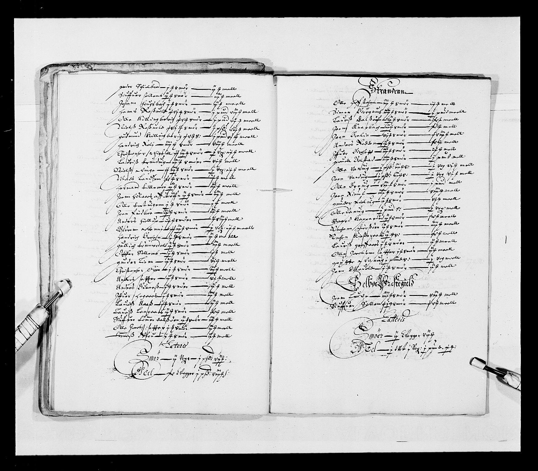RA, Stattholderembetet 1572-1771, Ek/L0028: Jordebøker 1633-1658:, 1645-1646, s. 144