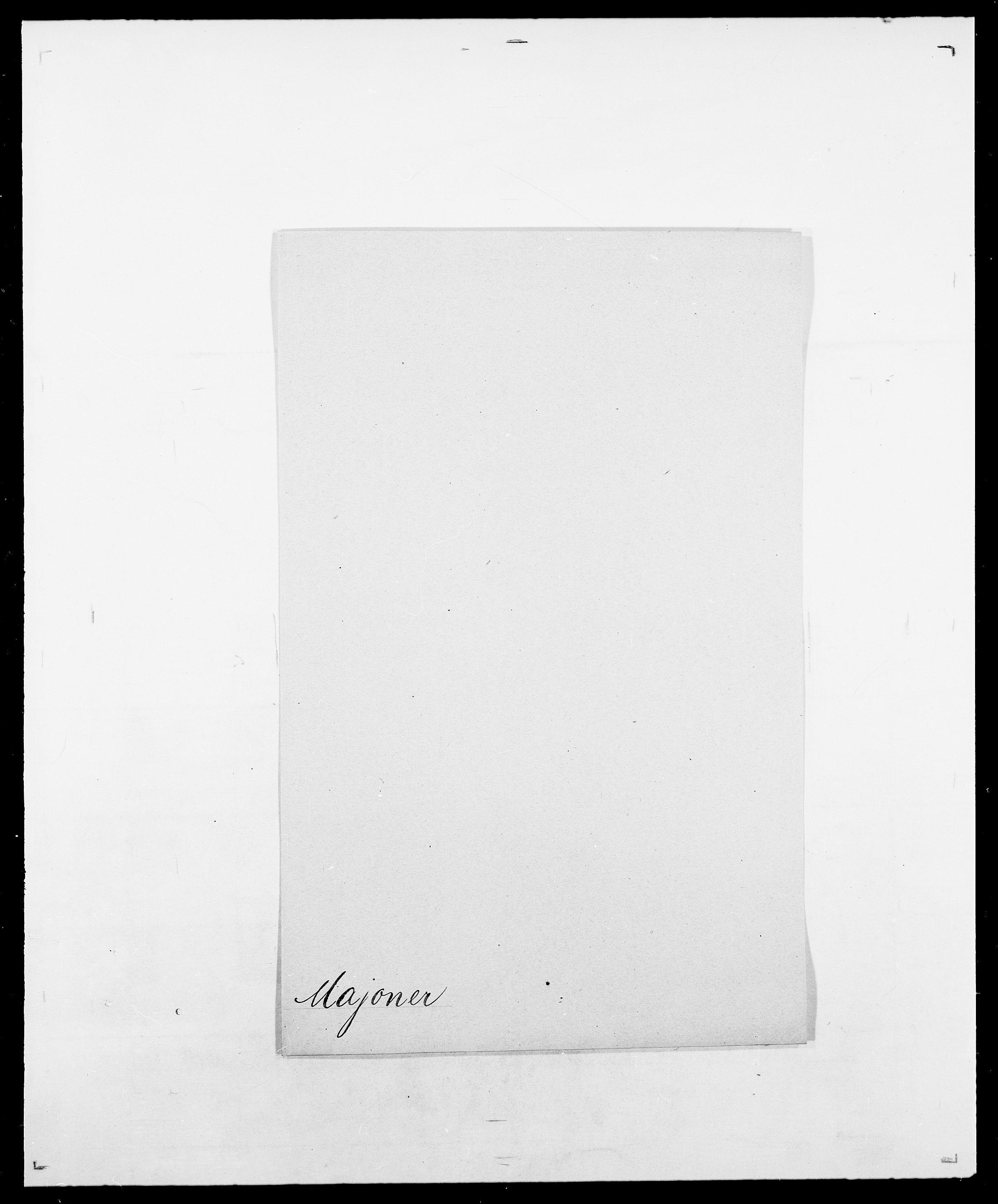 SAO, Delgobe, Charles Antoine - samling, D/Da/L0025: Løberg - Mazar, s. 238