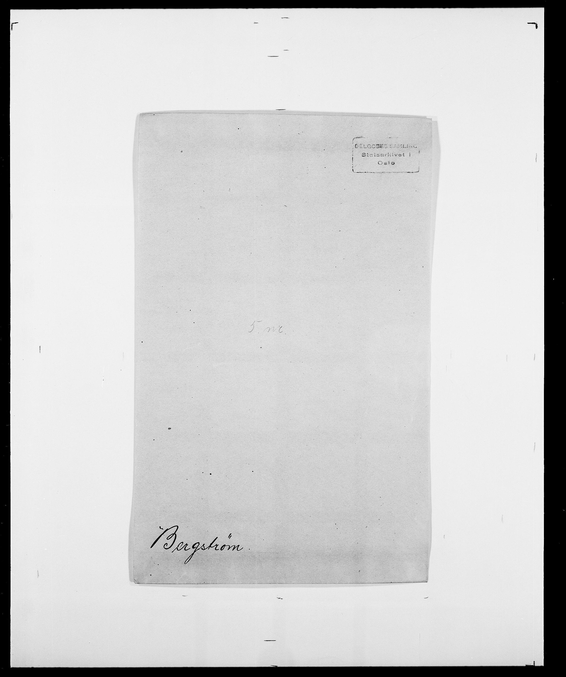 SAO, Delgobe, Charles Antoine - samling, D/Da/L0004: Bergendahl - Blære, s. 40