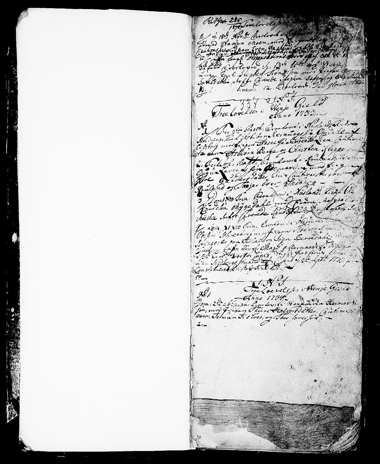 SAKO, Vinje kirkebøker, F/Fa/L0001: Ministerialbok nr. I 1, 1717-1766, s. 5