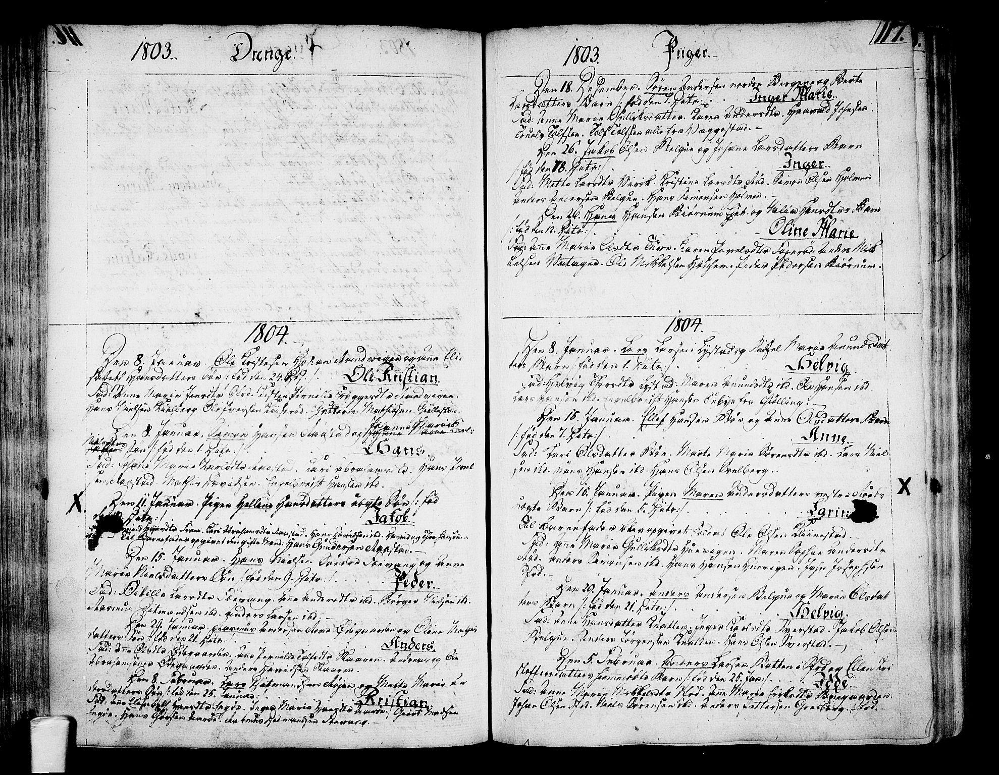 SAKO, Sandar kirkebøker, F/Fa/L0003: Ministerialbok nr. 3, 1789-1814, s. 117