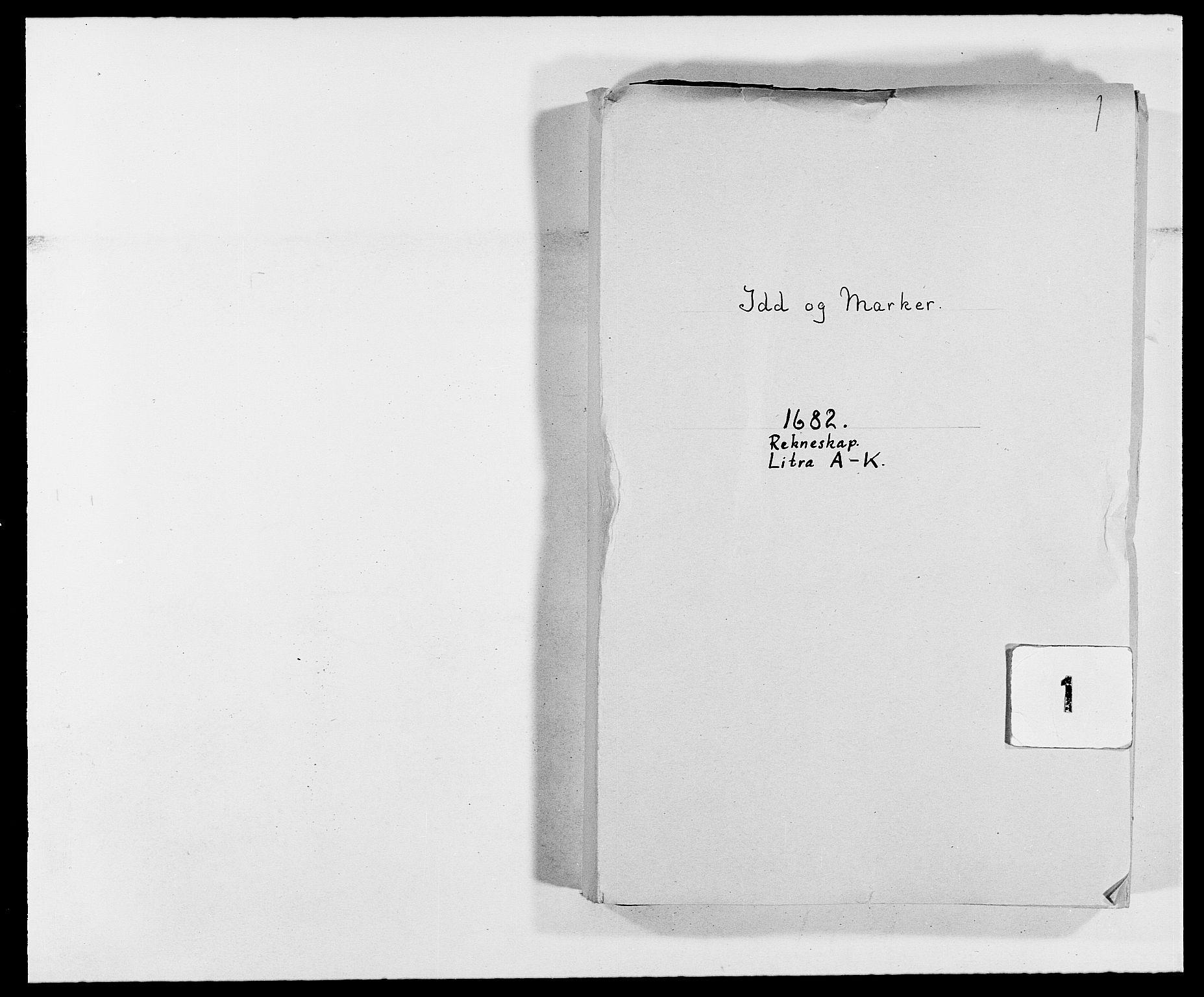 RA, Rentekammeret inntil 1814, Reviderte regnskaper, Fogderegnskap, R01/L0004: Fogderegnskap Idd og Marker , 1682-1683, s. 1