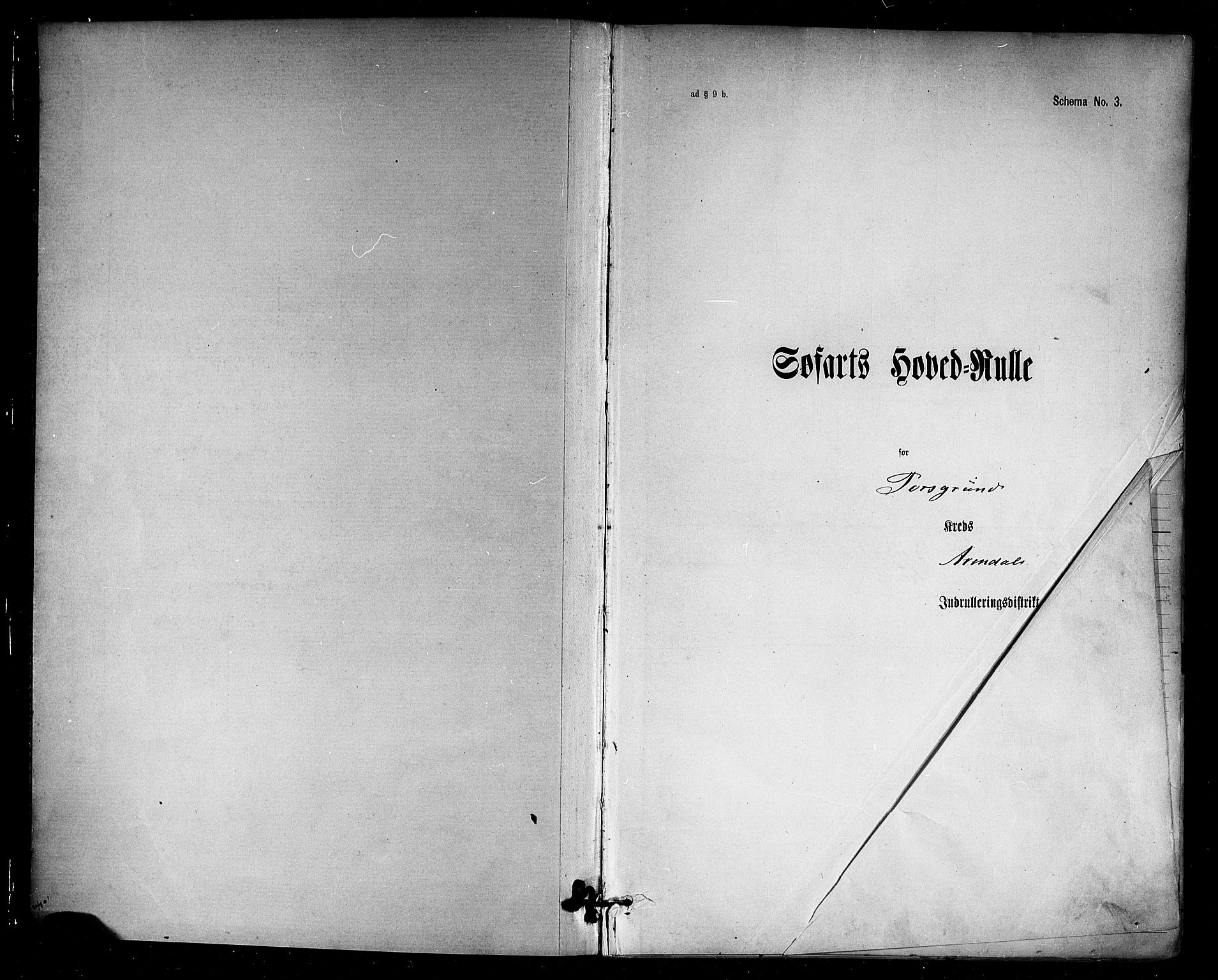 SAKO, Porsgrunn innrulleringskontor, F/Fc/L0007: Hovedrulle, 1894, s. 2