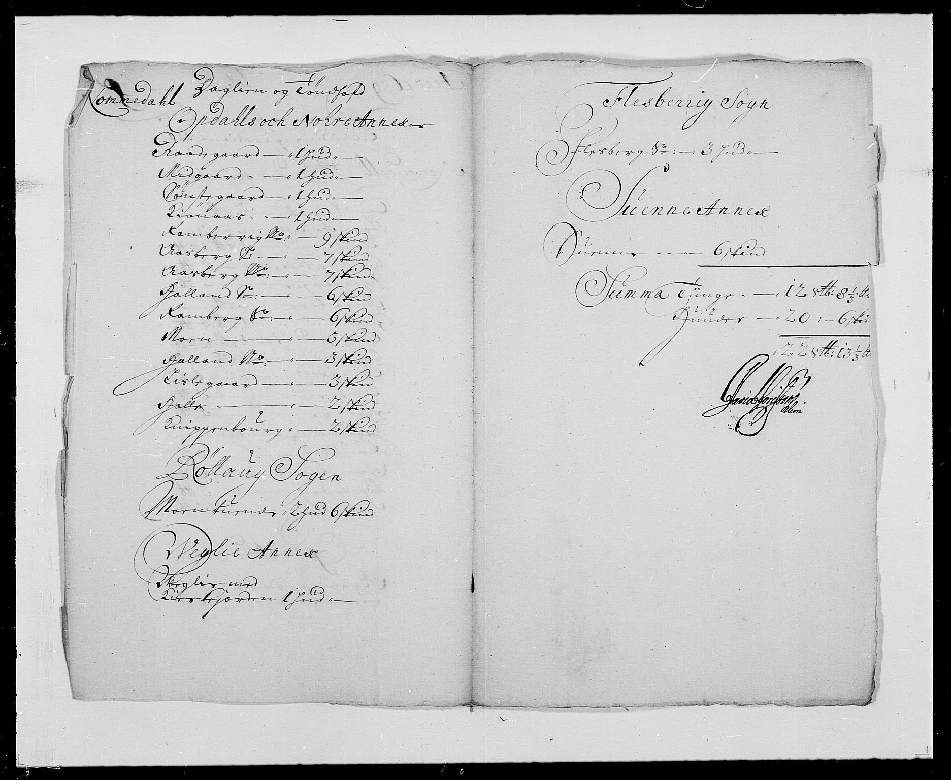 RA, Rentekammeret inntil 1814, Reviderte regnskaper, Fogderegnskap, R24/L1573: Fogderegnskap Numedal og Sandsvær, 1687-1691, s. 379
