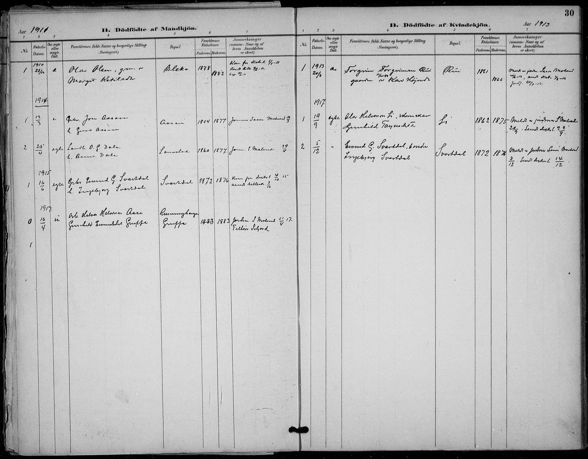 SAKO, Seljord kirkebøker, F/Fb/L0002: Ministerialbok nr. II 2, 1887-1917, s. 30