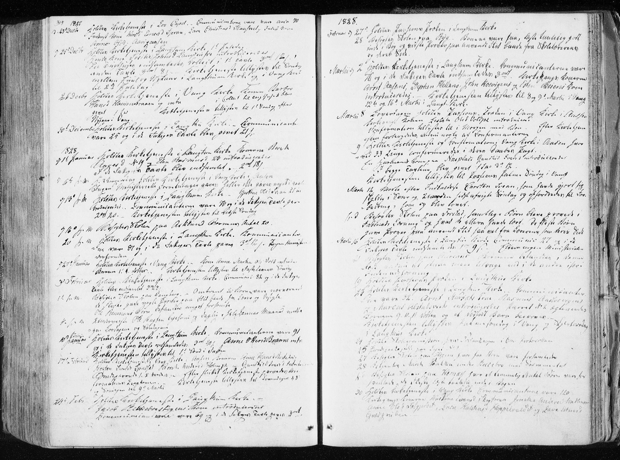 SAT, Ministerialprotokoller, klokkerbøker og fødselsregistre - Nord-Trøndelag, 713/L0114: Ministerialbok nr. 713A05, 1827-1839, s. 315