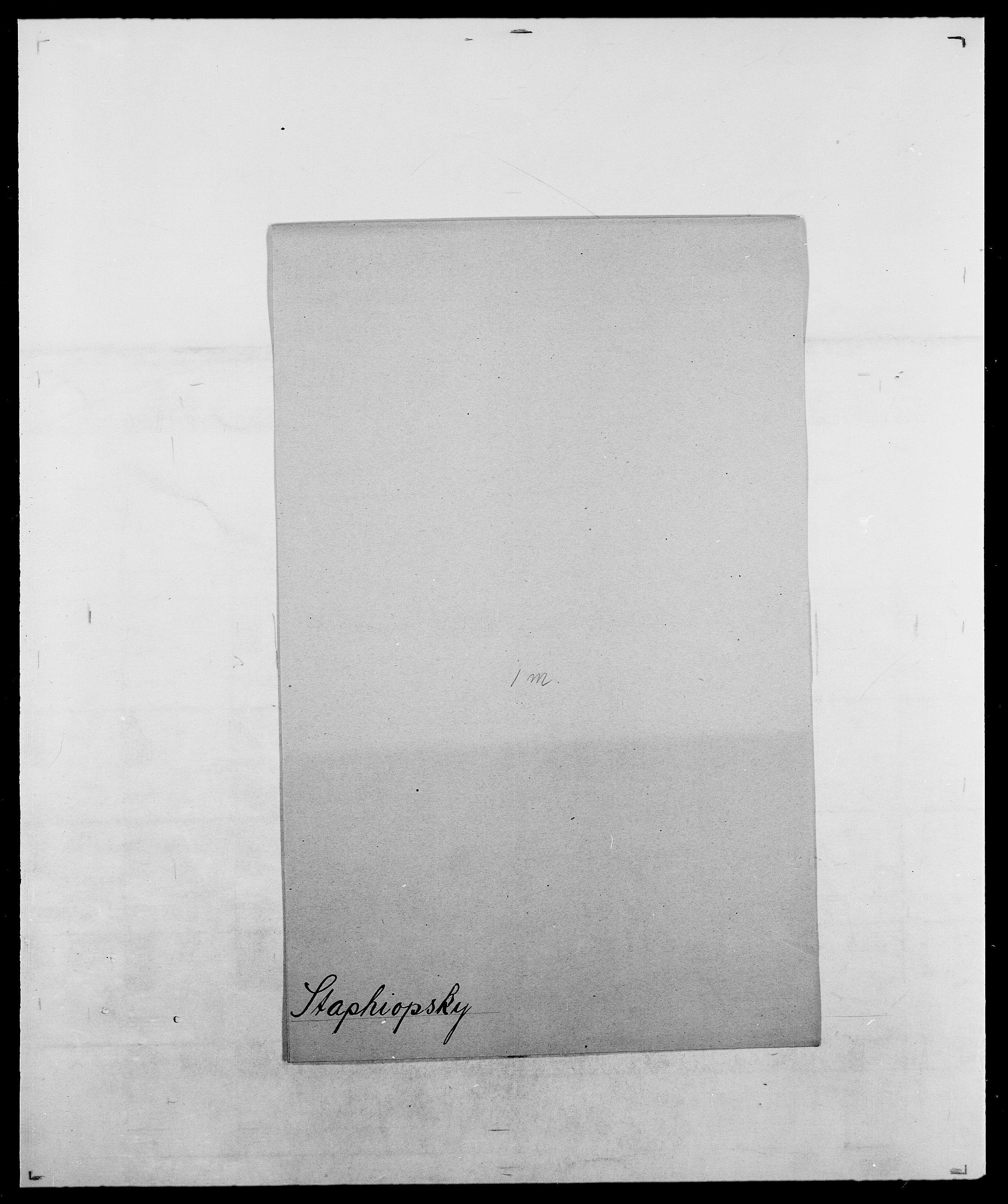 SAO, Delgobe, Charles Antoine - samling, D/Da/L0036: Skaanør - Staverskov, s. 994