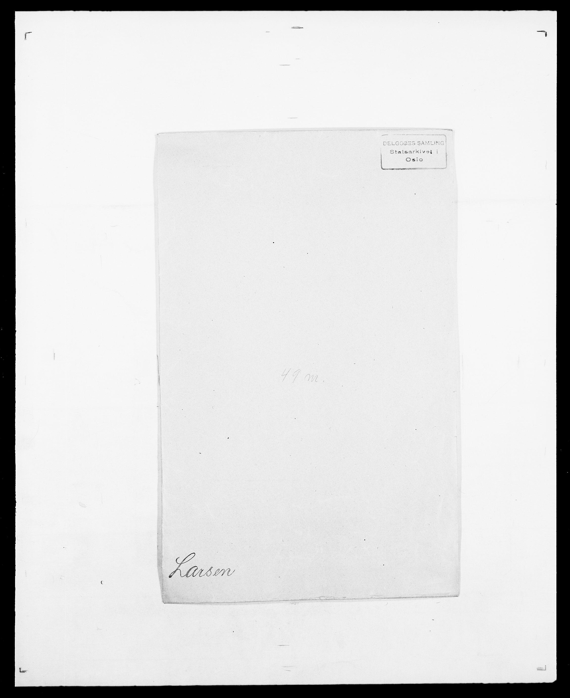 SAO, Delgobe, Charles Antoine - samling, D/Da/L0022: Krog - Lasteen, s. 728
