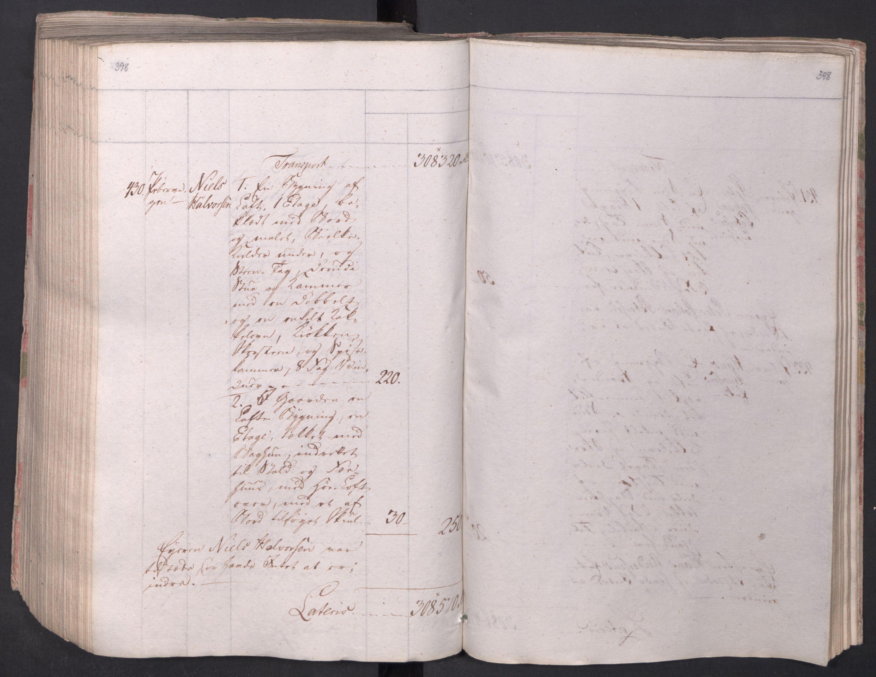 SAO, Kristiania stiftamt, I/Ia/L0015: Branntakster, 1797, s. 398