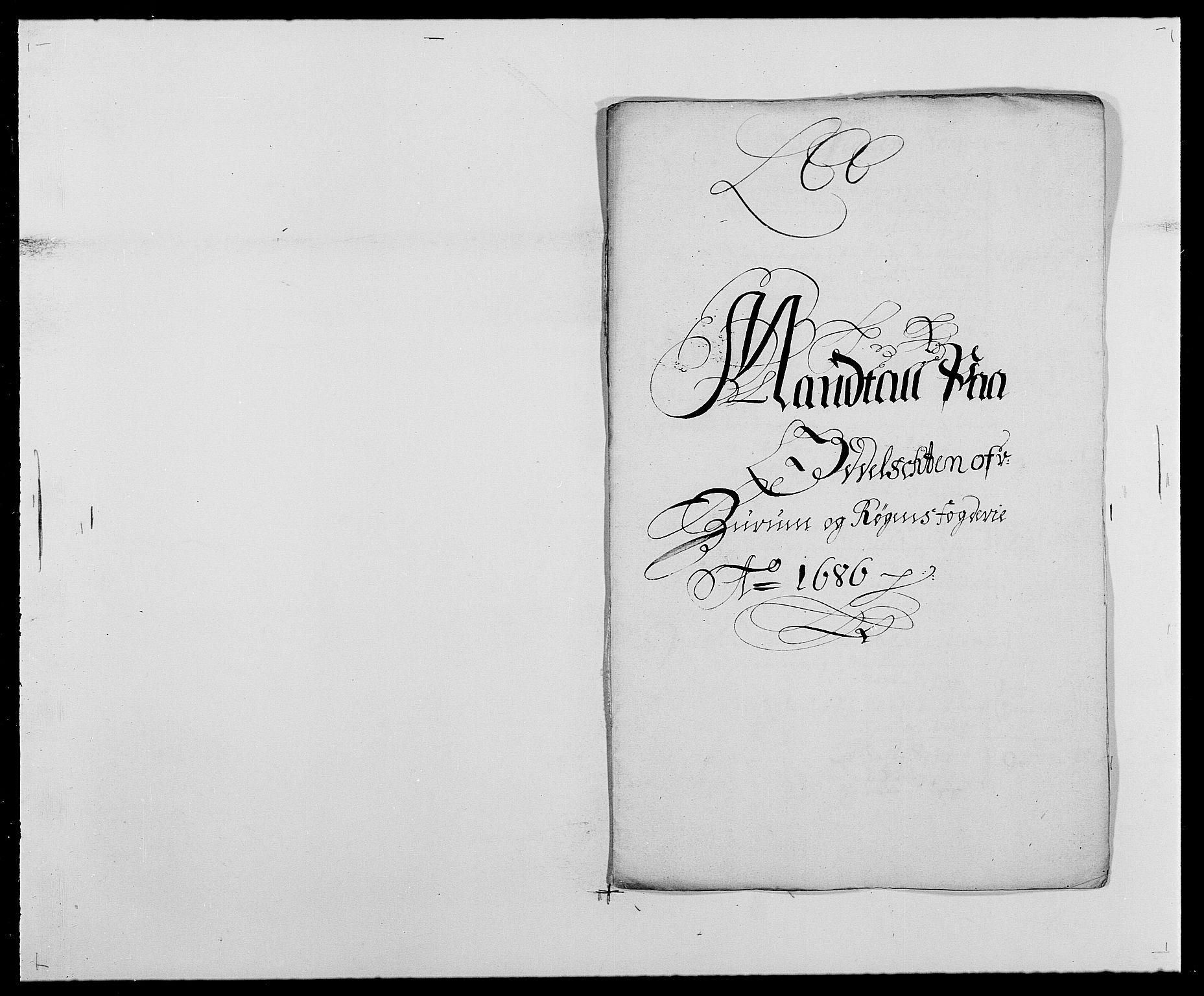 RA, Rentekammeret inntil 1814, Reviderte regnskaper, Fogderegnskap, R29/L1692: Fogderegnskap Hurum og Røyken, 1682-1687, s. 279