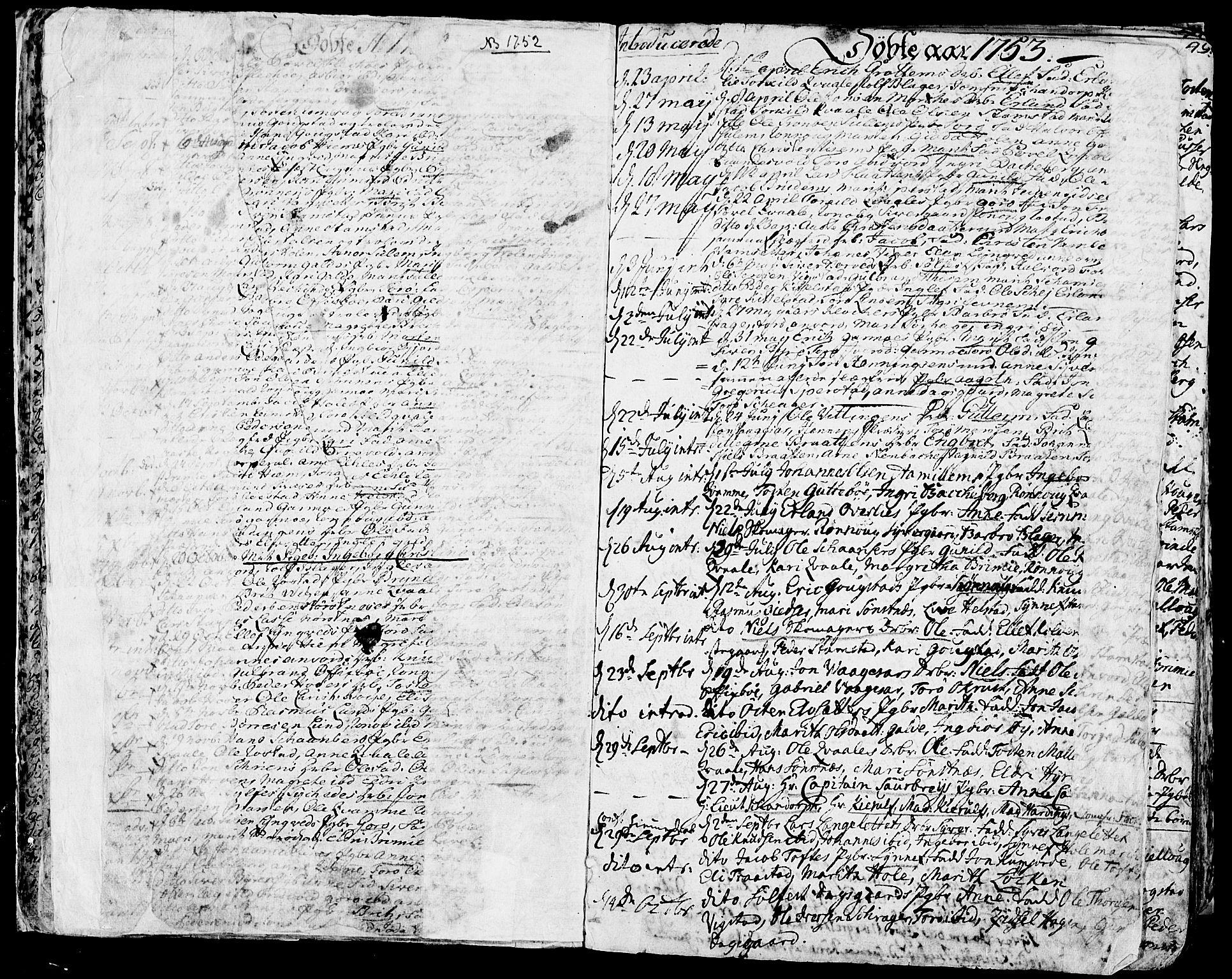SAH, Lom prestekontor, K/L0002: Ministerialbok nr. 2, 1749-1801, s. 46-47