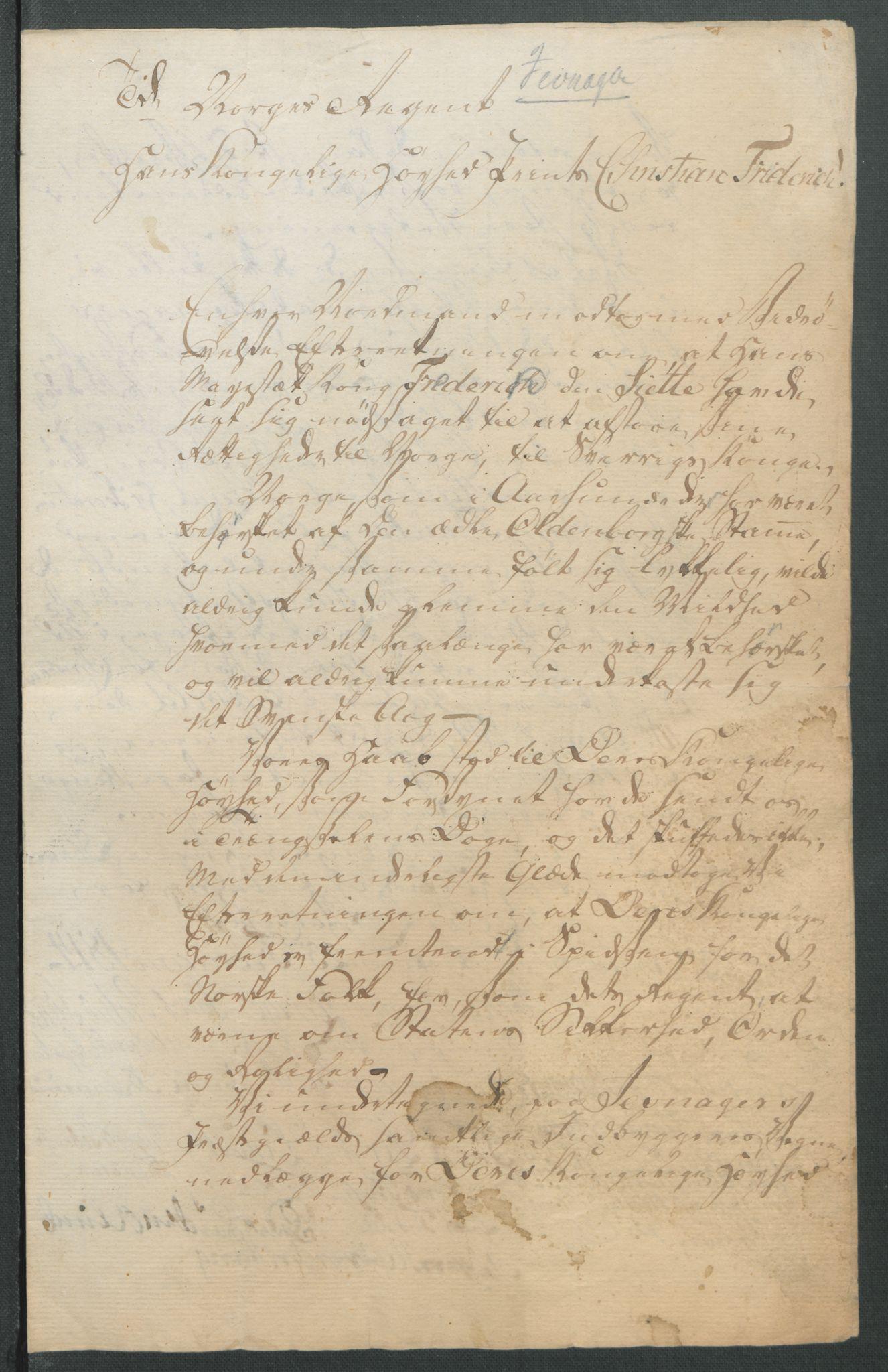 RA, Statsrådssekretariatet, D/Db/L0007: Fullmakter for Eidsvollsrepresentantene i 1814. , 1814, s. 264