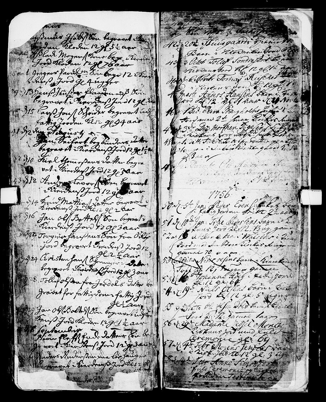 SAKO, Skien kirkebøker, F/Fa/L0002: Ministerialbok nr. 2, 1716-1757, s. 239